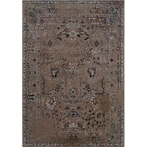 Oriental Weavers Revive 5.3 x 7.6 Area Rug : Tan