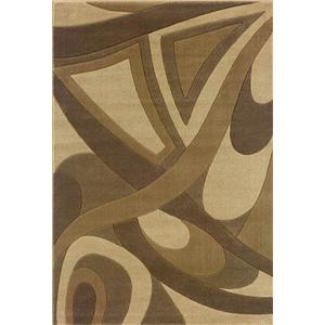 7.10 x 11.2 Area Rug : Light Brown