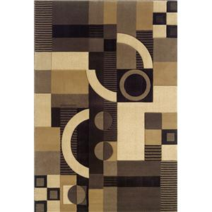 Oriental Weavers Talisman 5.3 x 7.9 Area Rug : Medium Brown