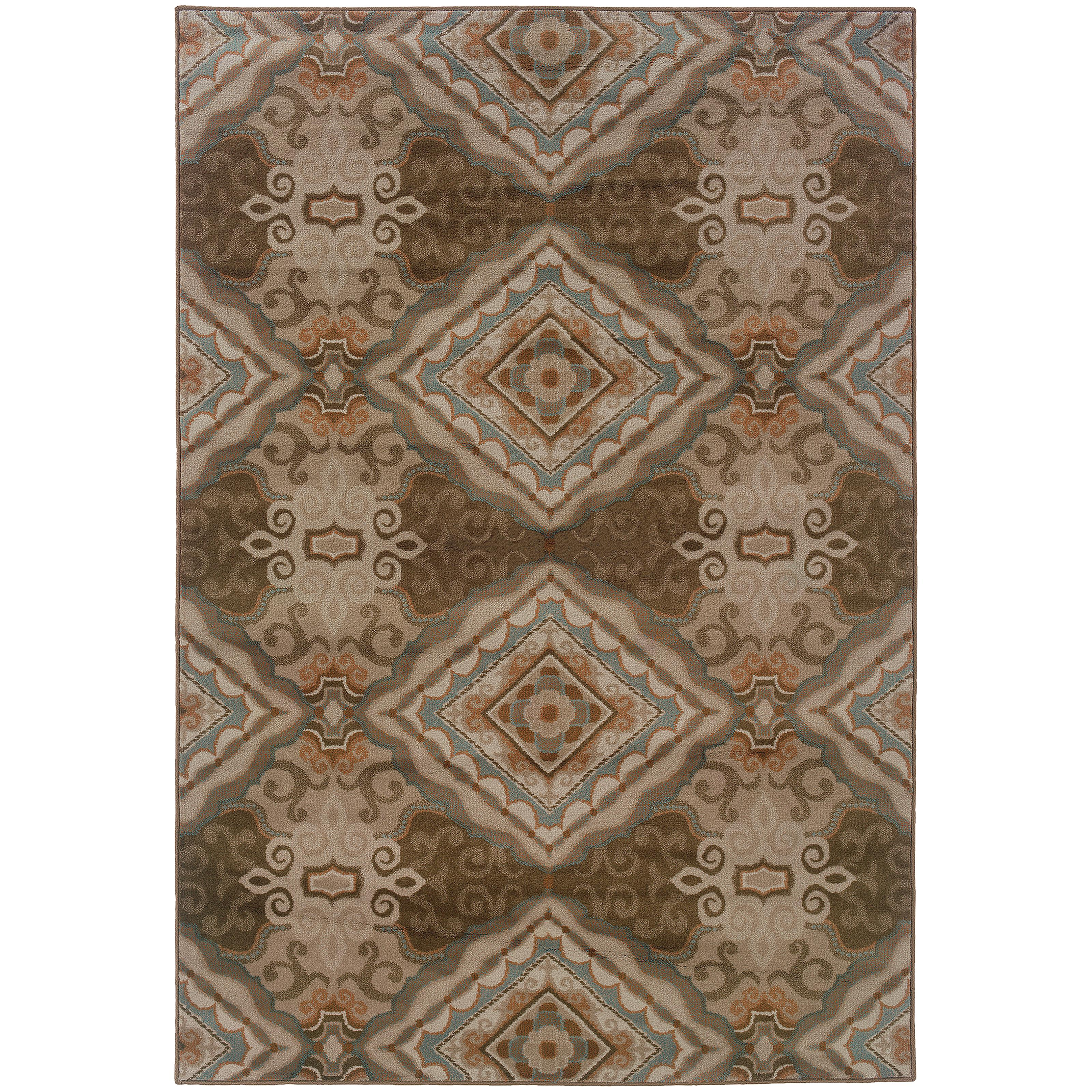 "Oriental Weavers Adrienne 6' 7"" X  9' 6"" Rug - Item Number: A3840E200290ST"