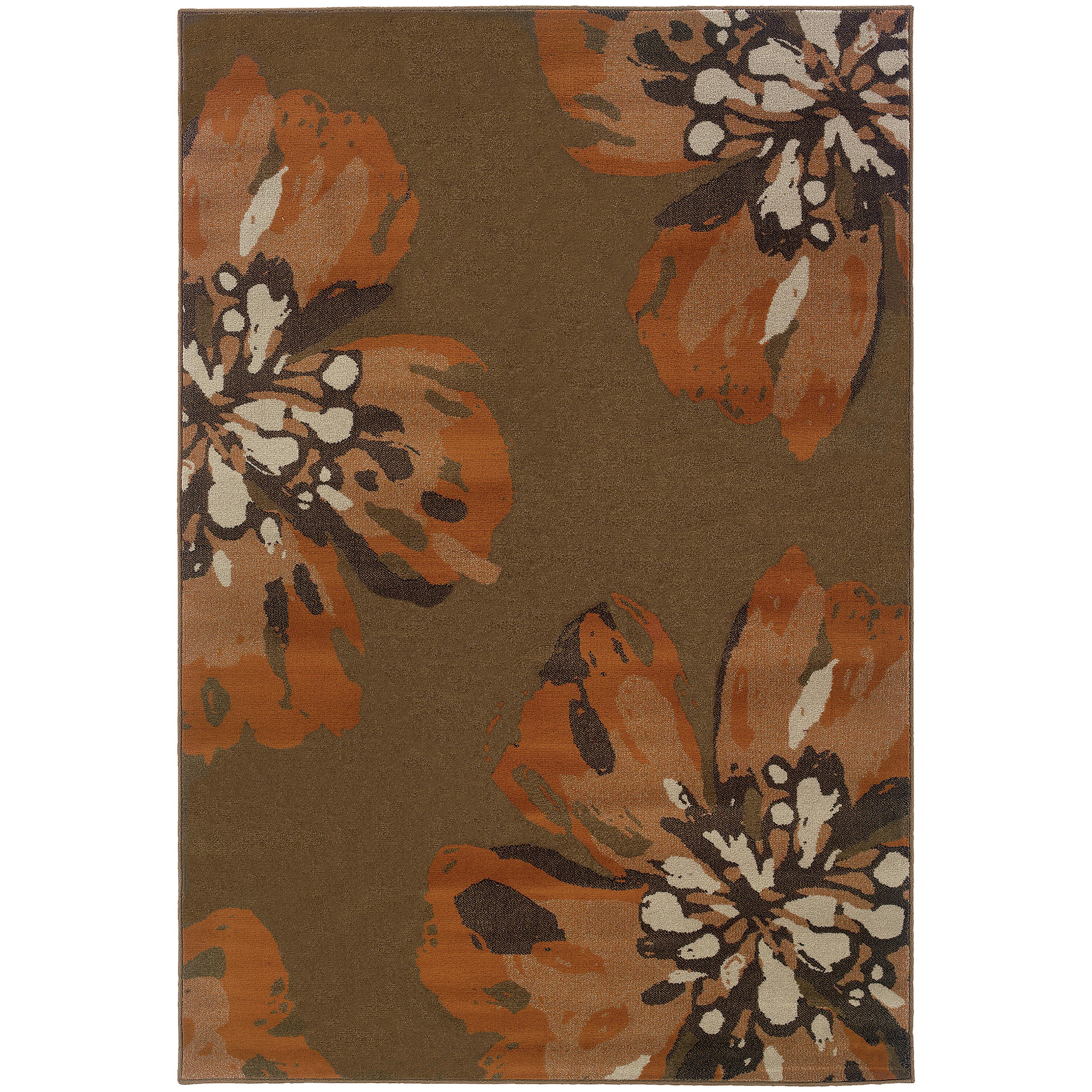 "Oriental Weavers Adrienne 5' 3"" X  7' 6"" Rug - Item Number: A4130C160229ST"