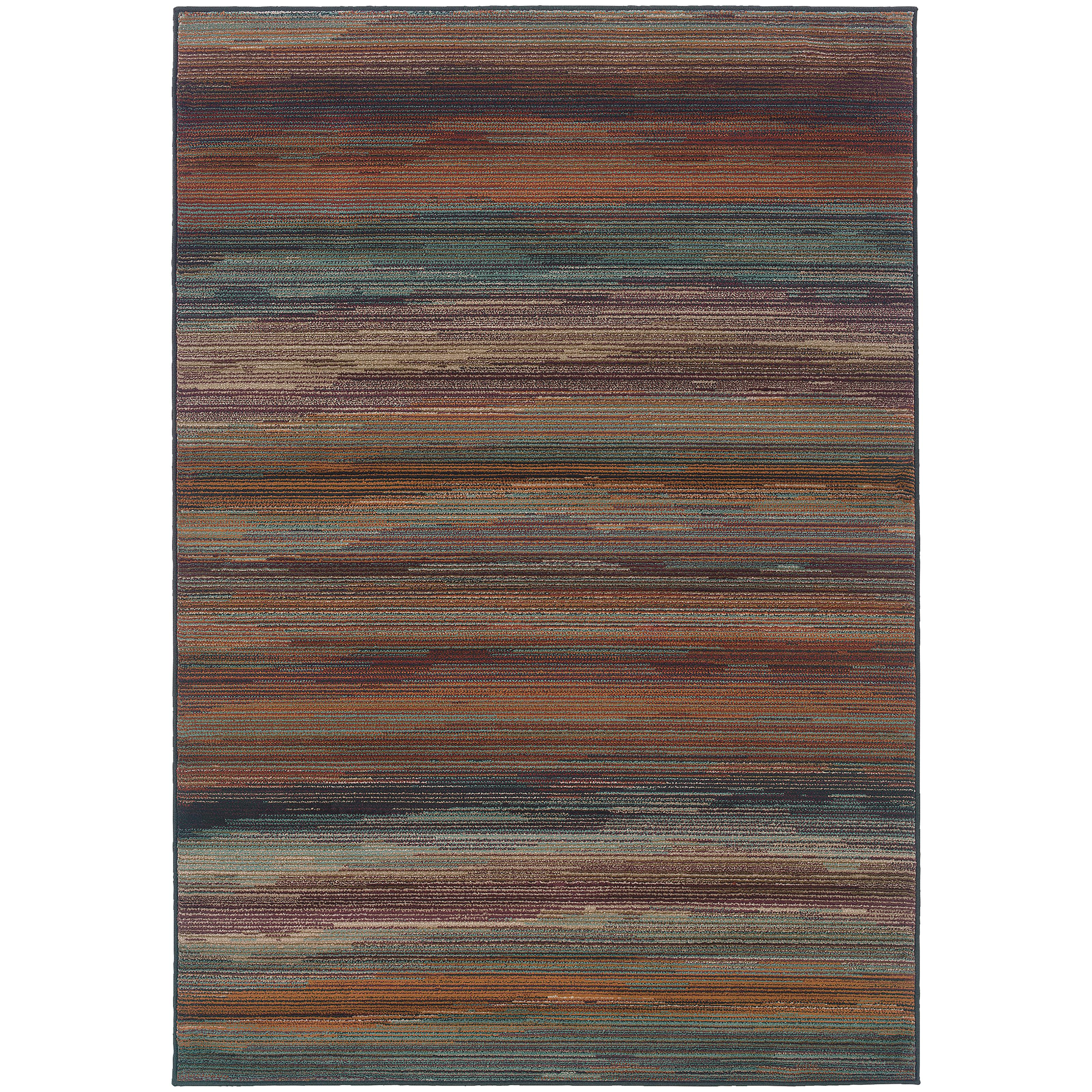 "Oriental Weavers Adrienne 5' 3"" X  7' 6"" Rug - Item Number: A4138A160229ST"