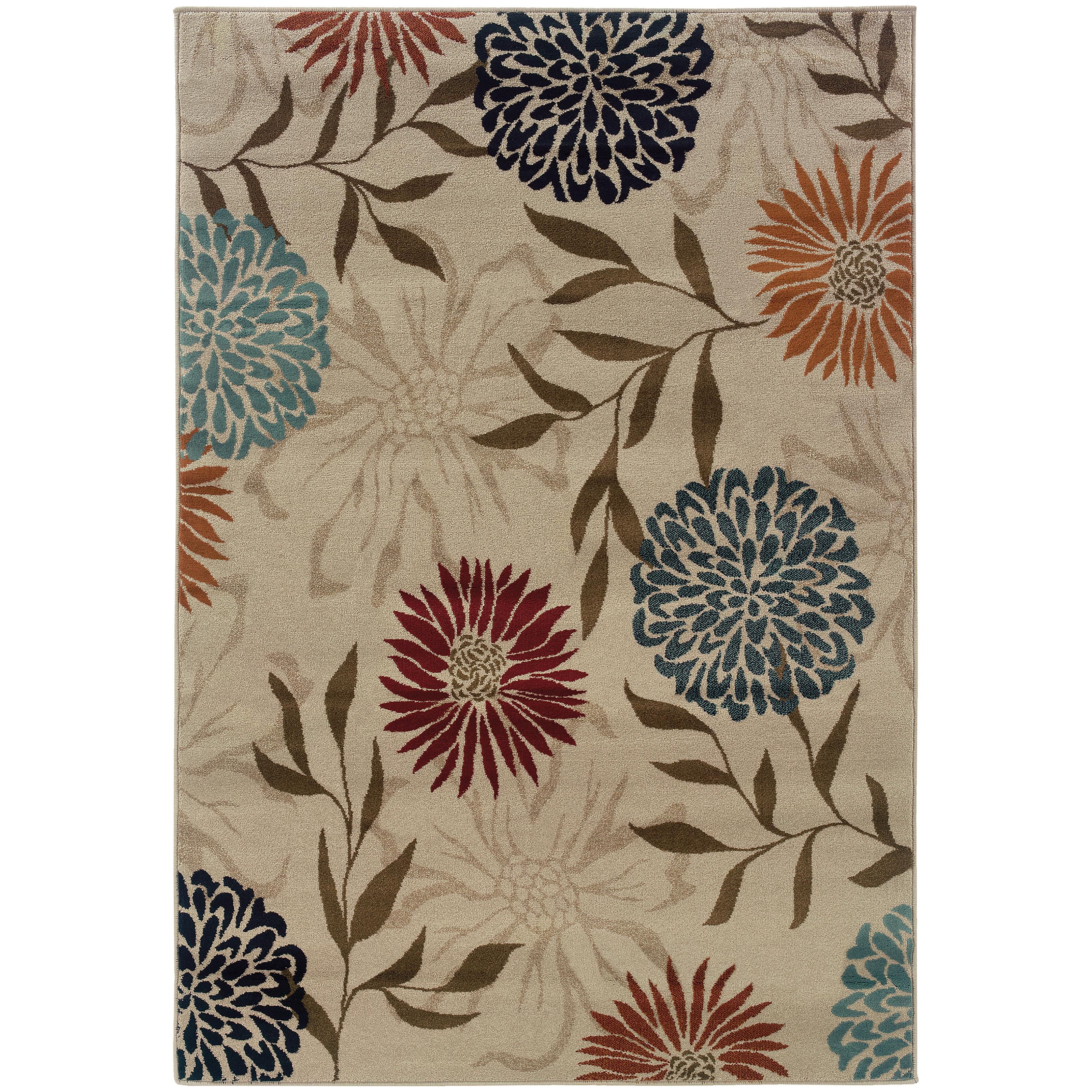 "Adrienne 5' 3"" X  7' 6"" Rug by Oriental Weavers at Steger's Furniture"