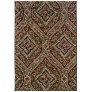 "Oriental Weavers Adrienne 5' 3"" X  7' 6"" Rug"