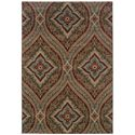 "Oriental Weavers Adrienne 6' 7"" X  9' 6"" Rug - Item Number: A4145E200290ST"