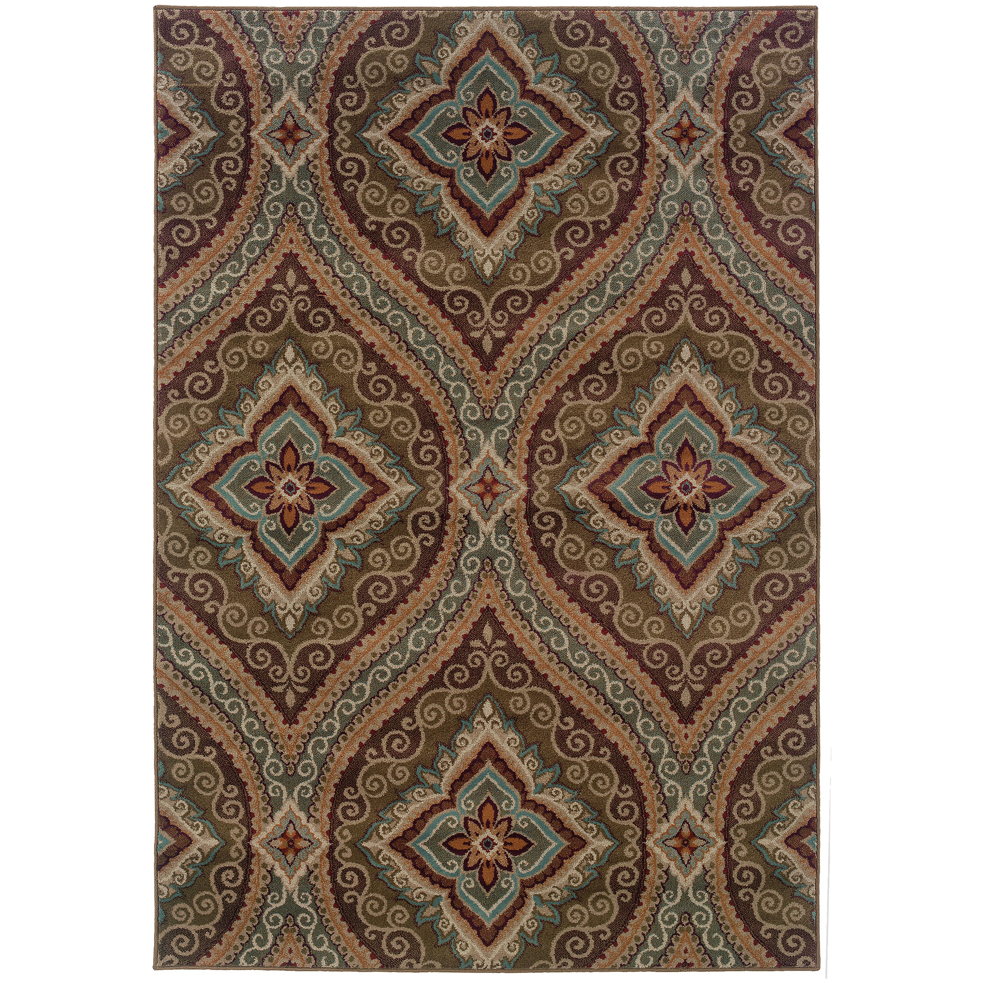 "Oriental Weavers Adrienne 7'10"" X 10'10"" Rug - Item Number: A4145E240330ST"
