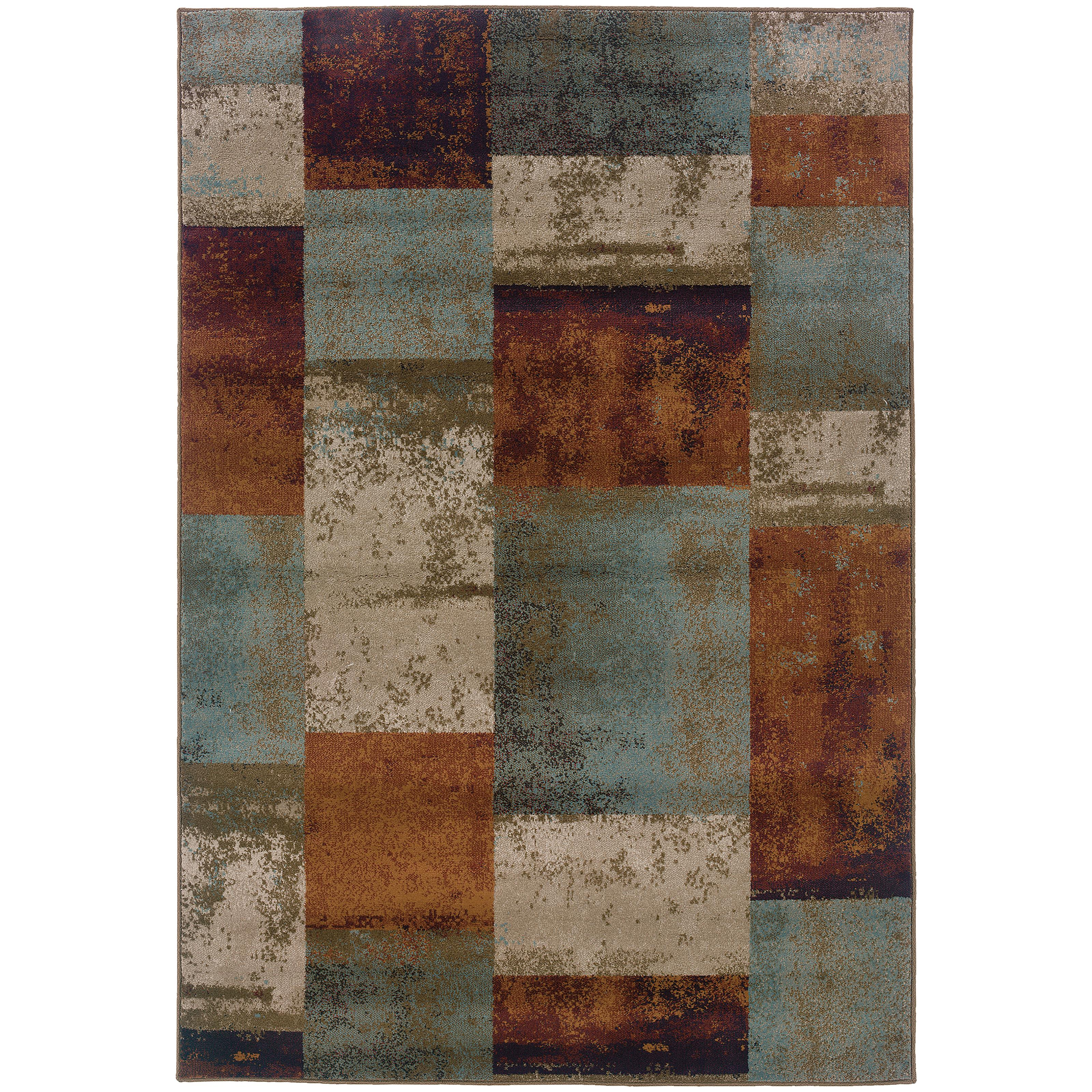 """Oriental Weavers Adrienne 3'10"""" X  5' 5"""" Rug - Item Number: A4147A117165ST"""