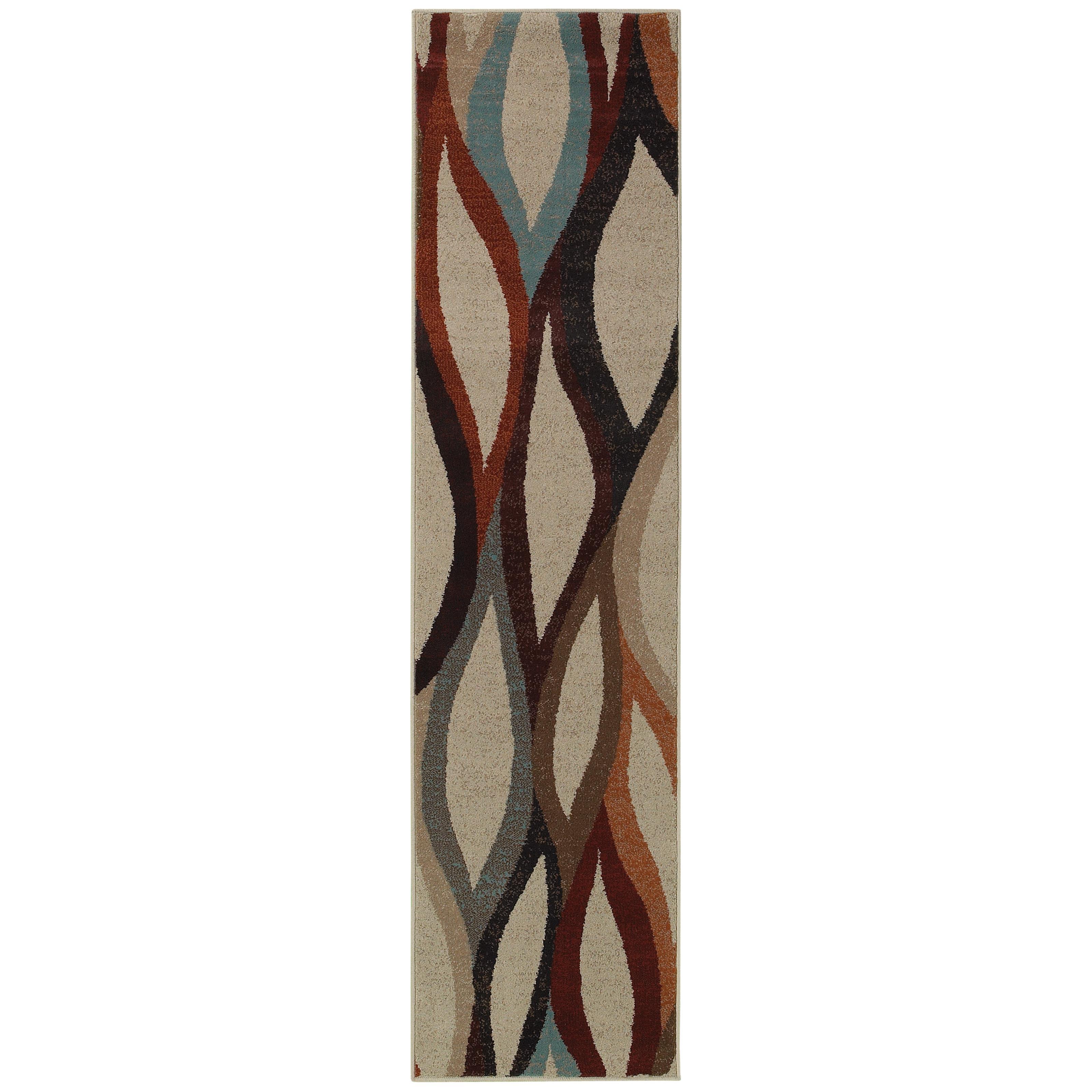 "Oriental Weavers Adrienne 1'10"" X  7' 6"" Rug - Item Number: A4178B058229ST"