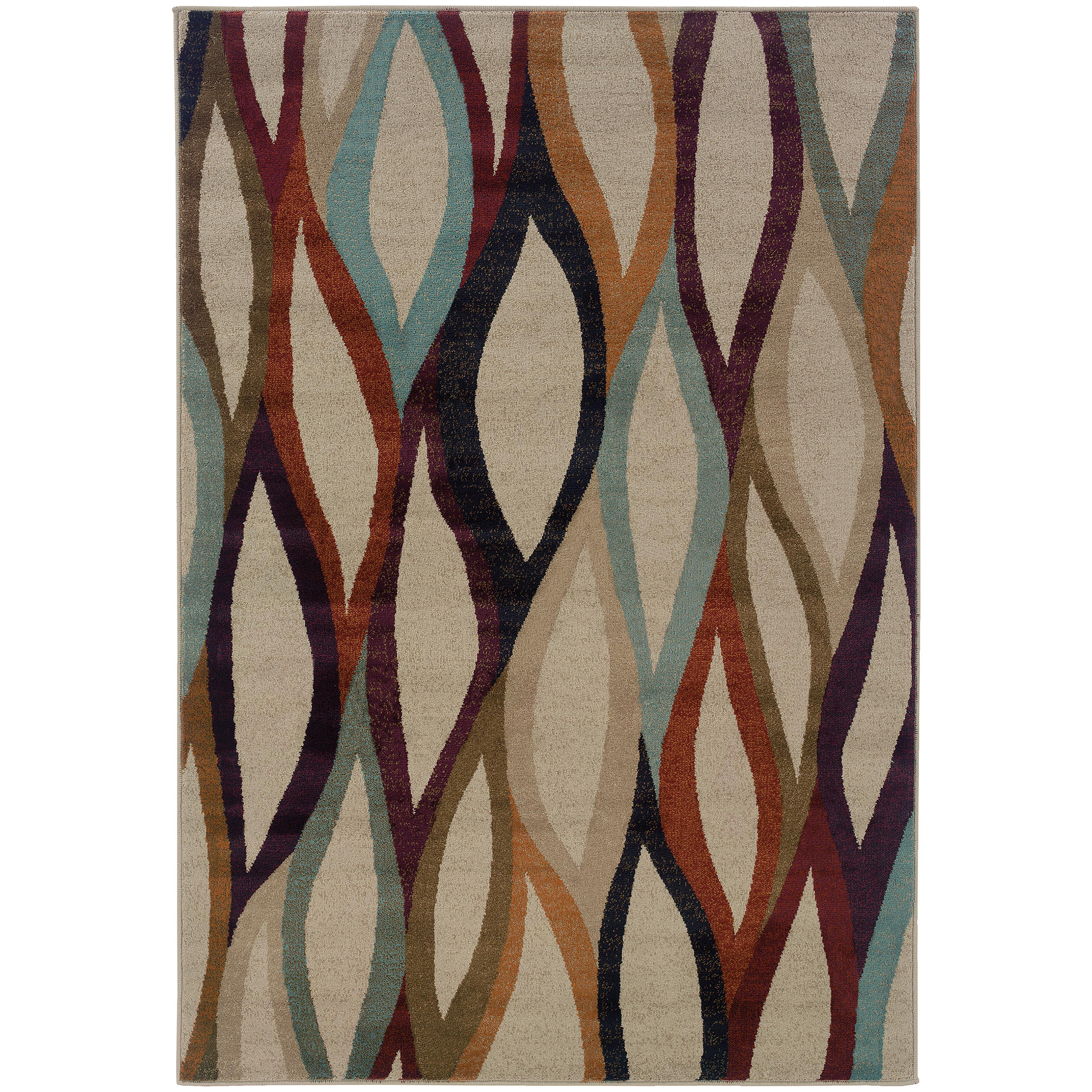 "Oriental Weavers Adrienne 5' 3"" X  7' 6"" Rug - Item Number: A4178B160229ST"