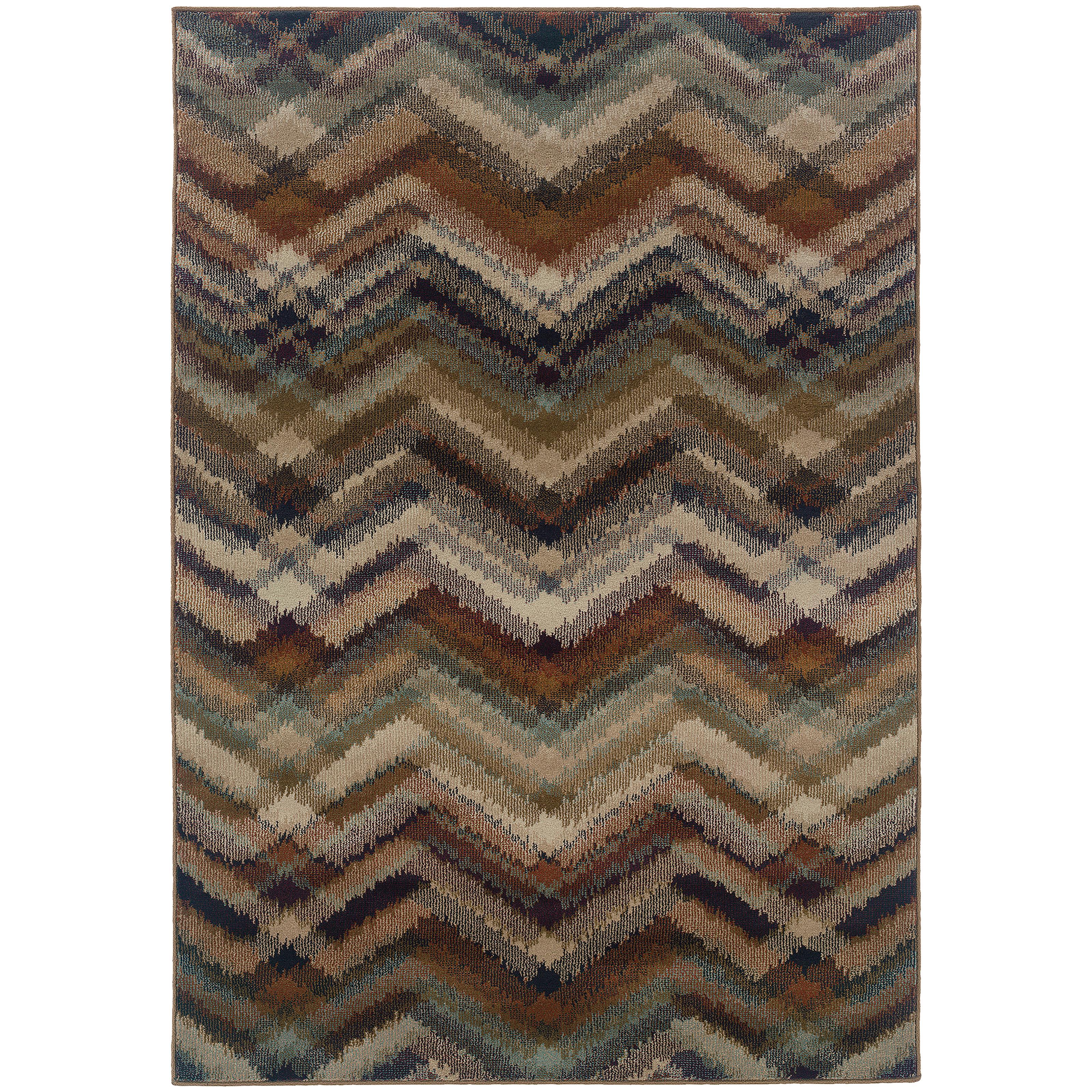 "Oriental Weavers Adrienne 9'10"" X 12' 9"" Rug - Item Number: A4205C300390ST"
