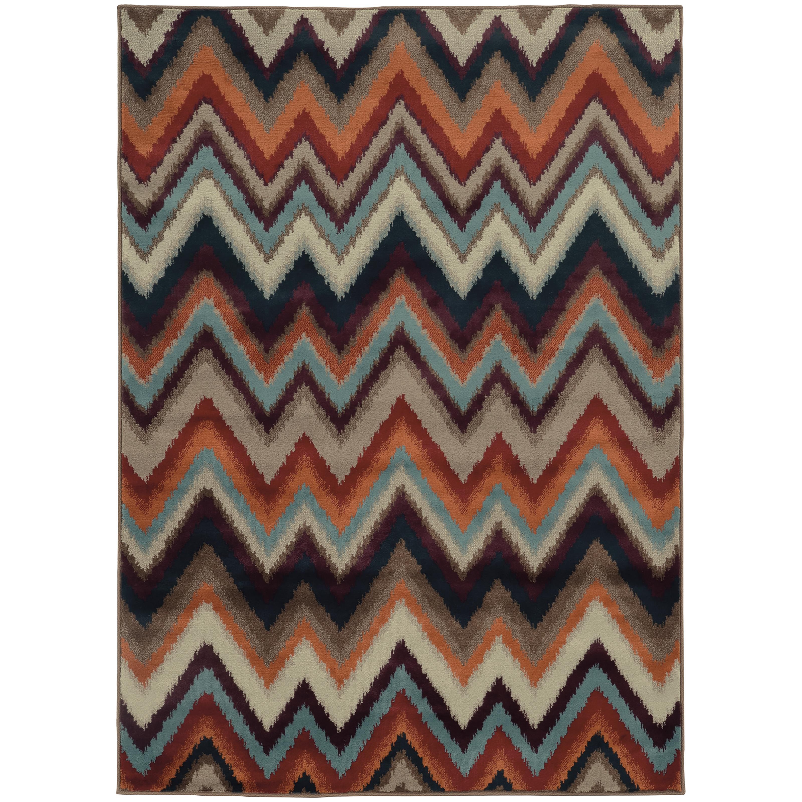 "Oriental Weavers Adrienne 5' 3"" X  7' 6"" Rug - Item Number: A4205D160229ST"
