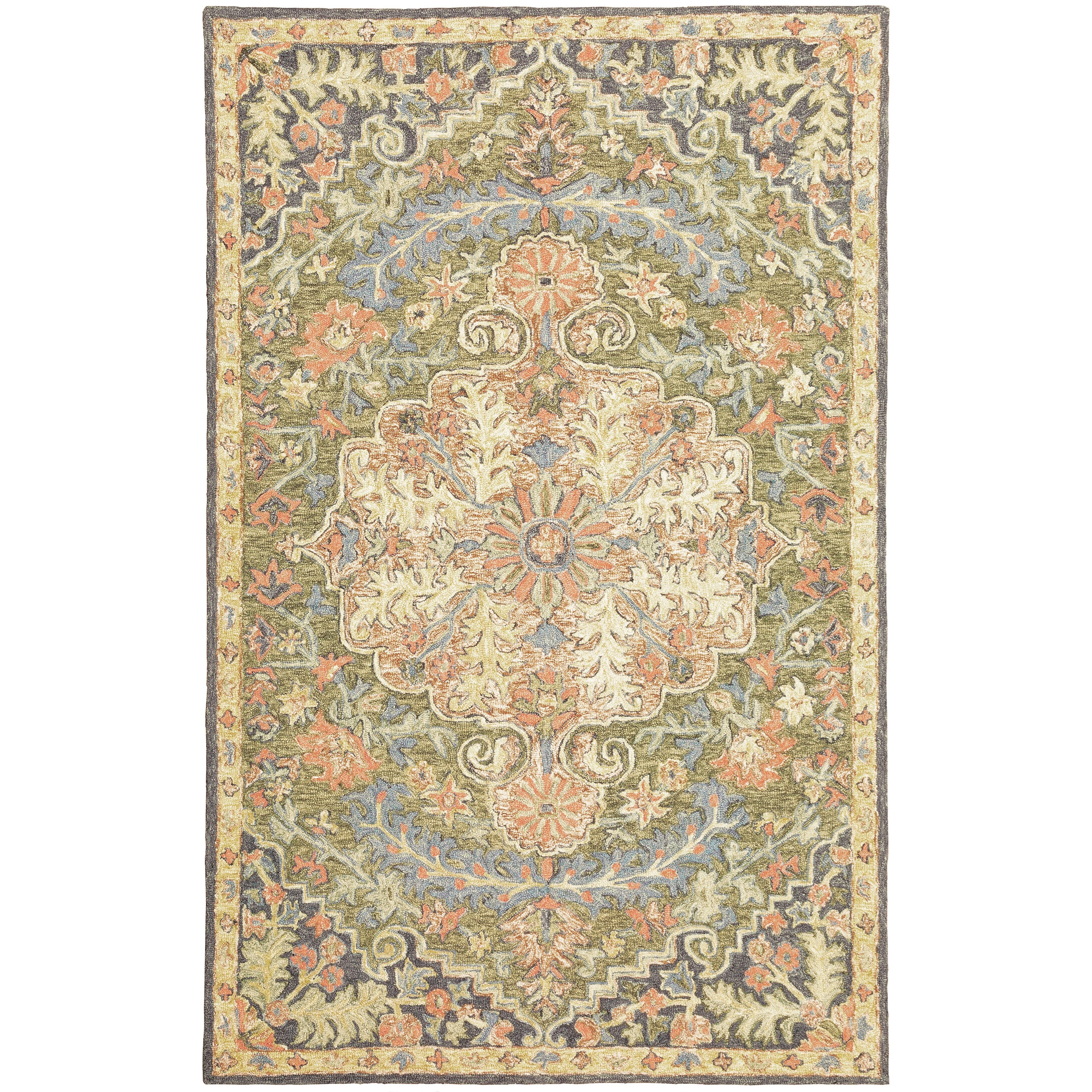 "Alfresco 3' 6"" X  5' 6"" Rectangle Rug by Oriental Weavers at Steger's Furniture"