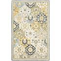 "Oriental Weavers Alfresco 3' 6"" X  5' 6"" Rectangle Rug - Item Number: ALF2840636X56"