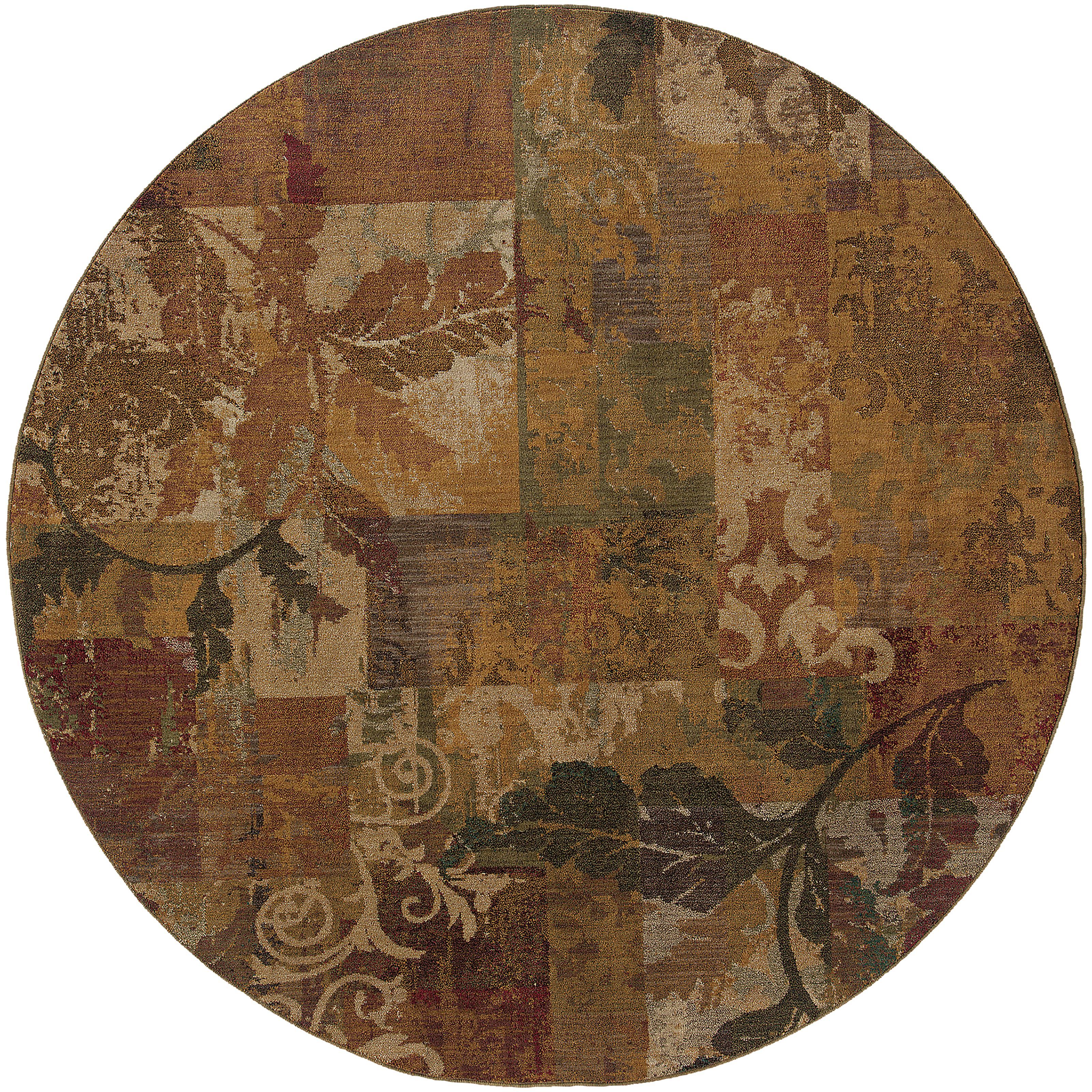 "Oriental Weavers Allure 7' 8"" Rug - Item Number: A059A1235RDST"