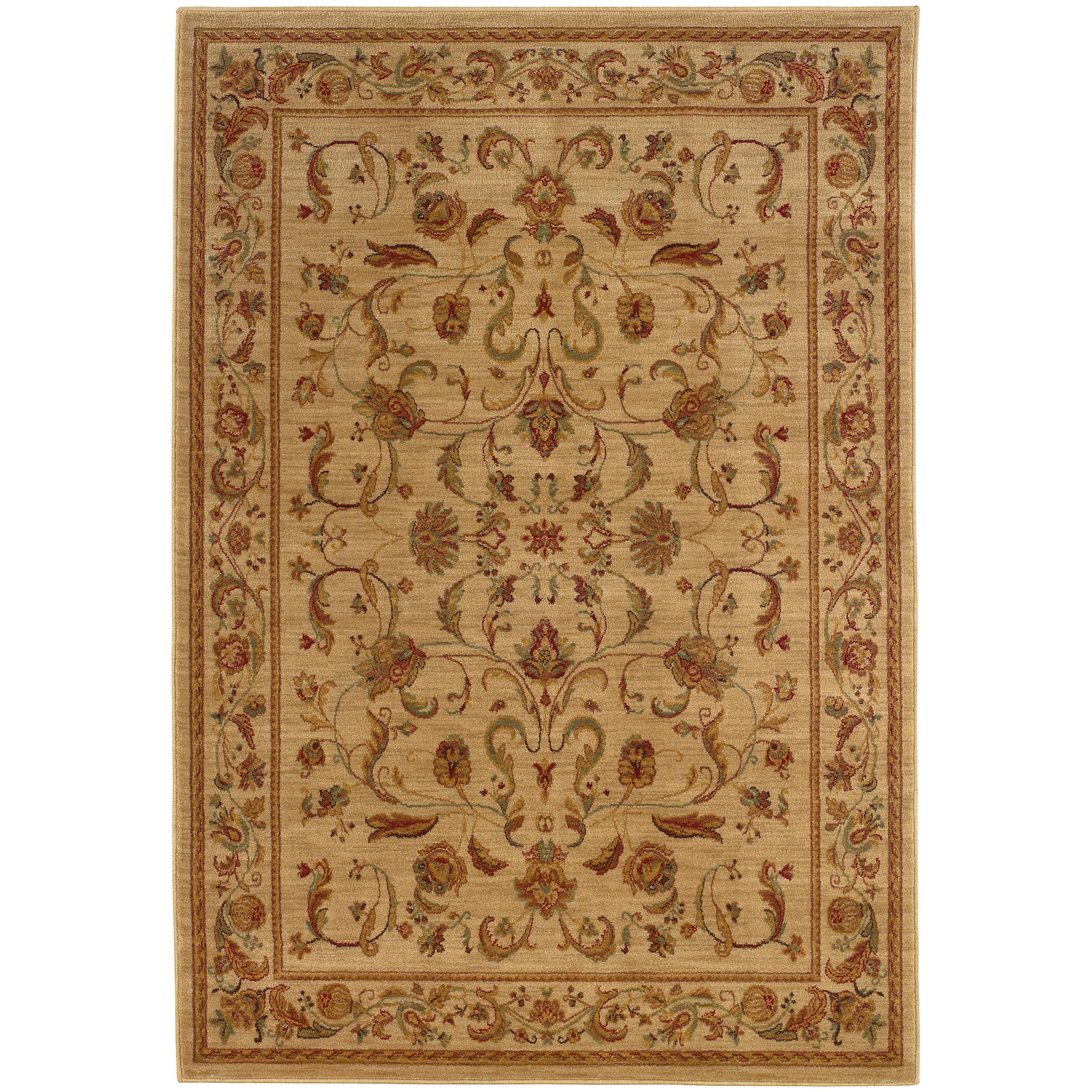 """Oriental Weavers Allure 3'10"""" X  5' 5"""" Rug - Item Number: AL02A14"""