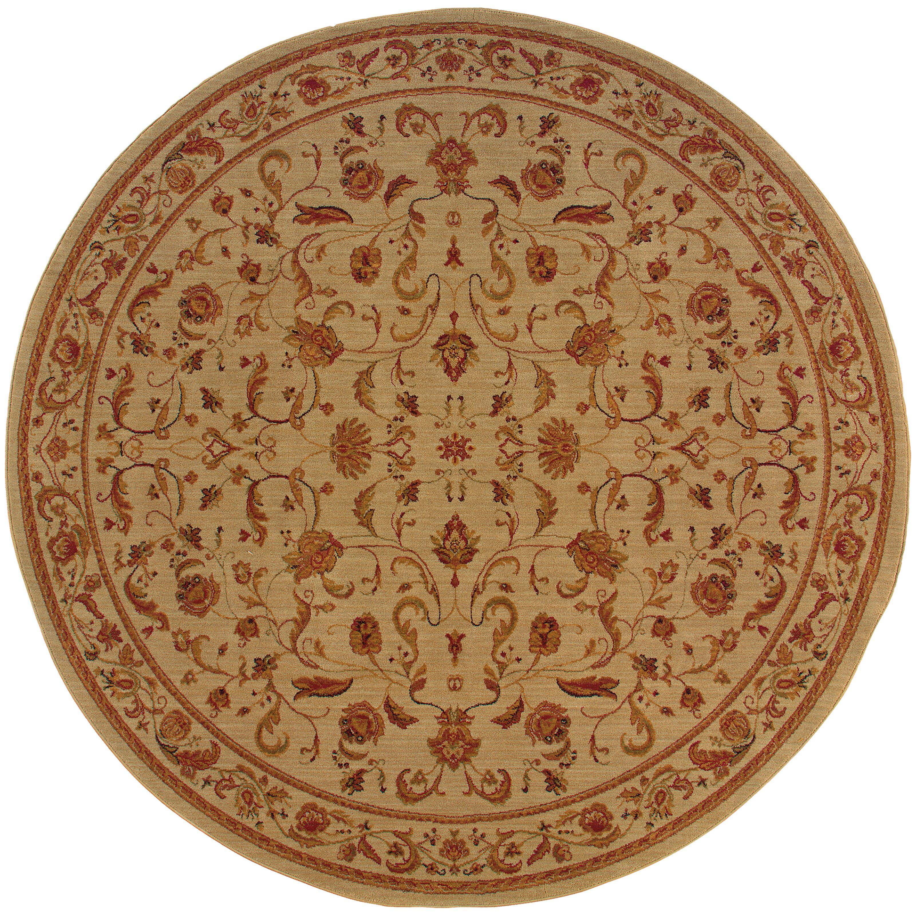 """Oriental Weavers Allure 7' 8"""" Rug - Item Number: AL02A1R"""