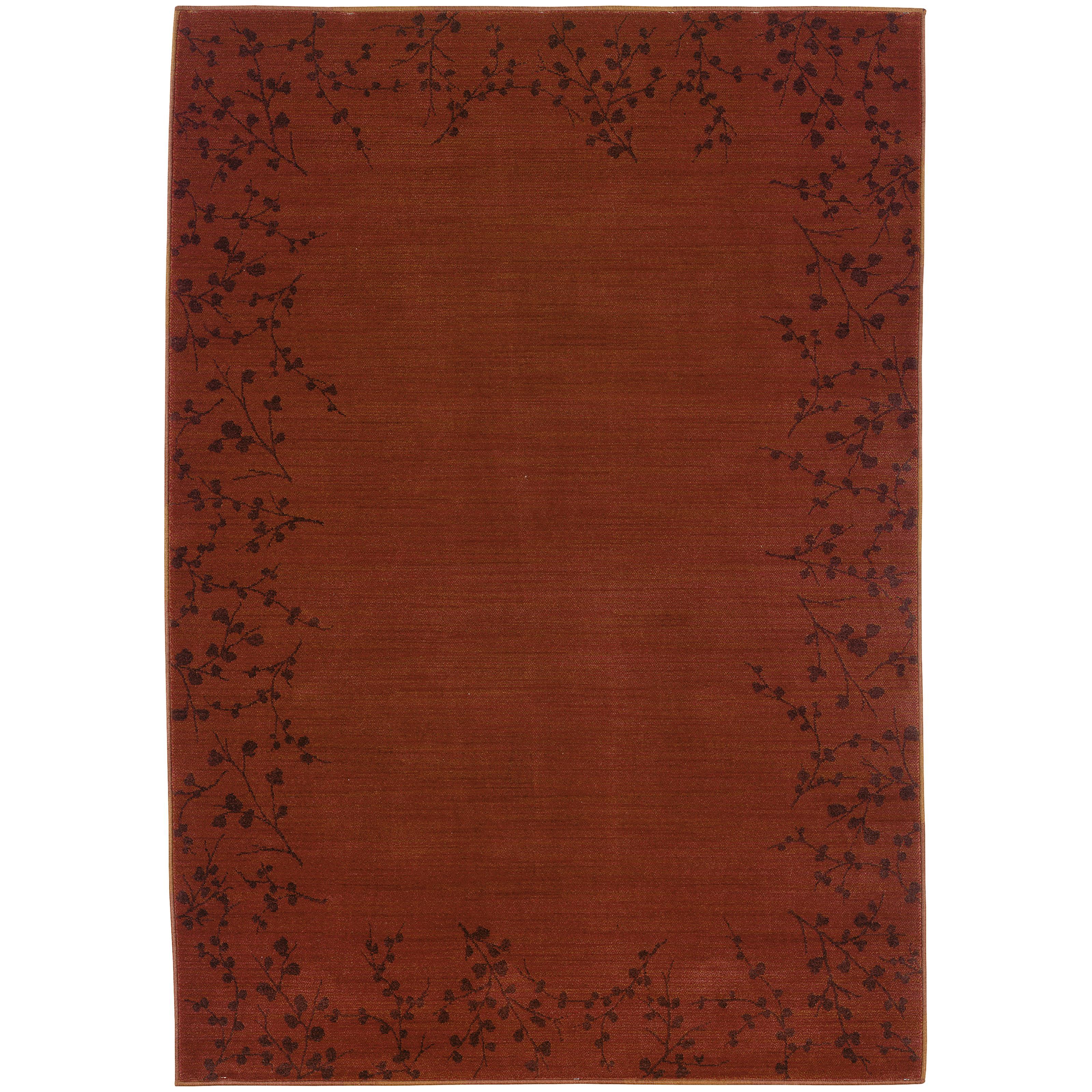 """Oriental Weavers Allure 3'10"""" X  5' 5"""" Rug - Item Number: AL04C14"""