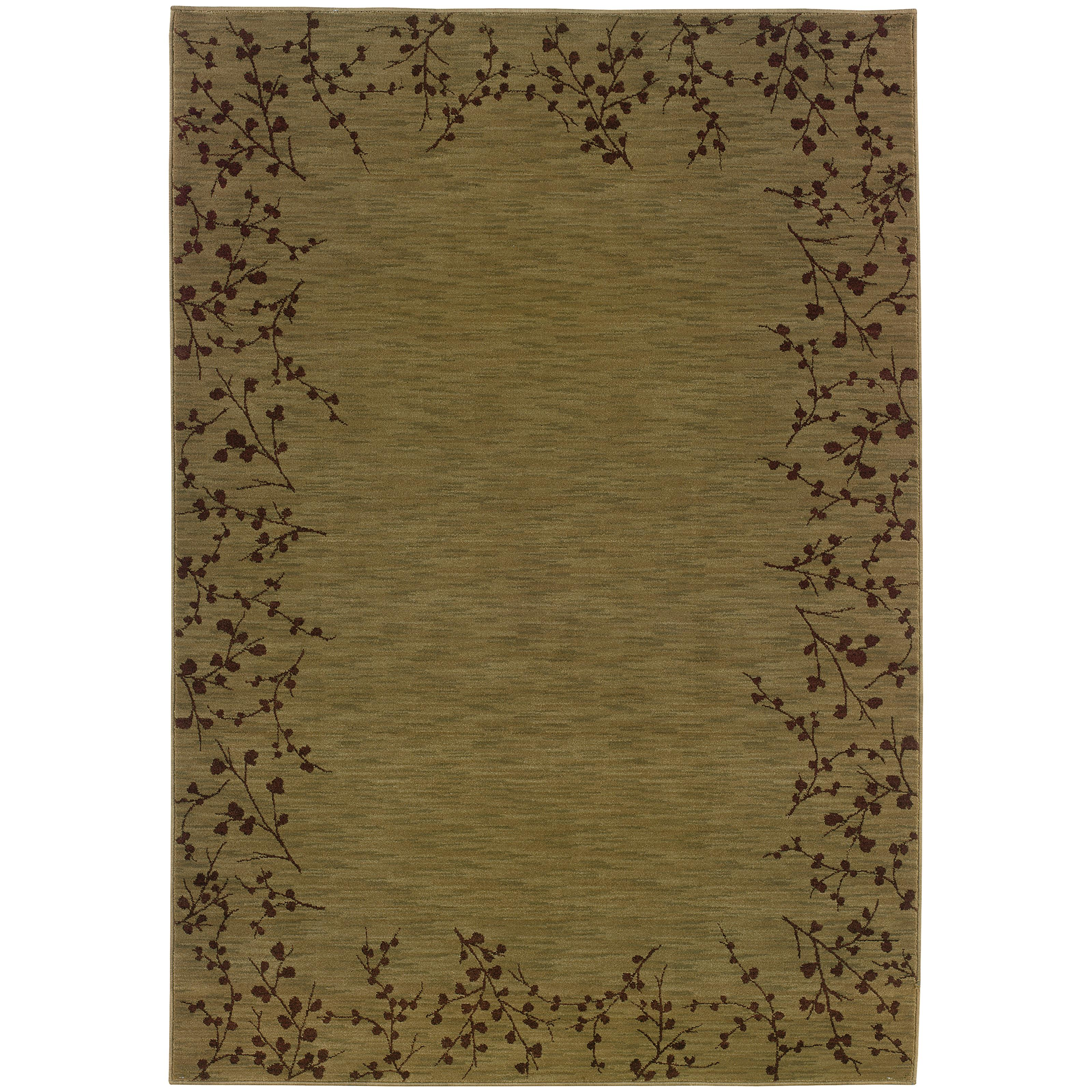 "Oriental Weavers Allure 5' 3"" X  7' 6"" Rug - Item Number: AL04E15"