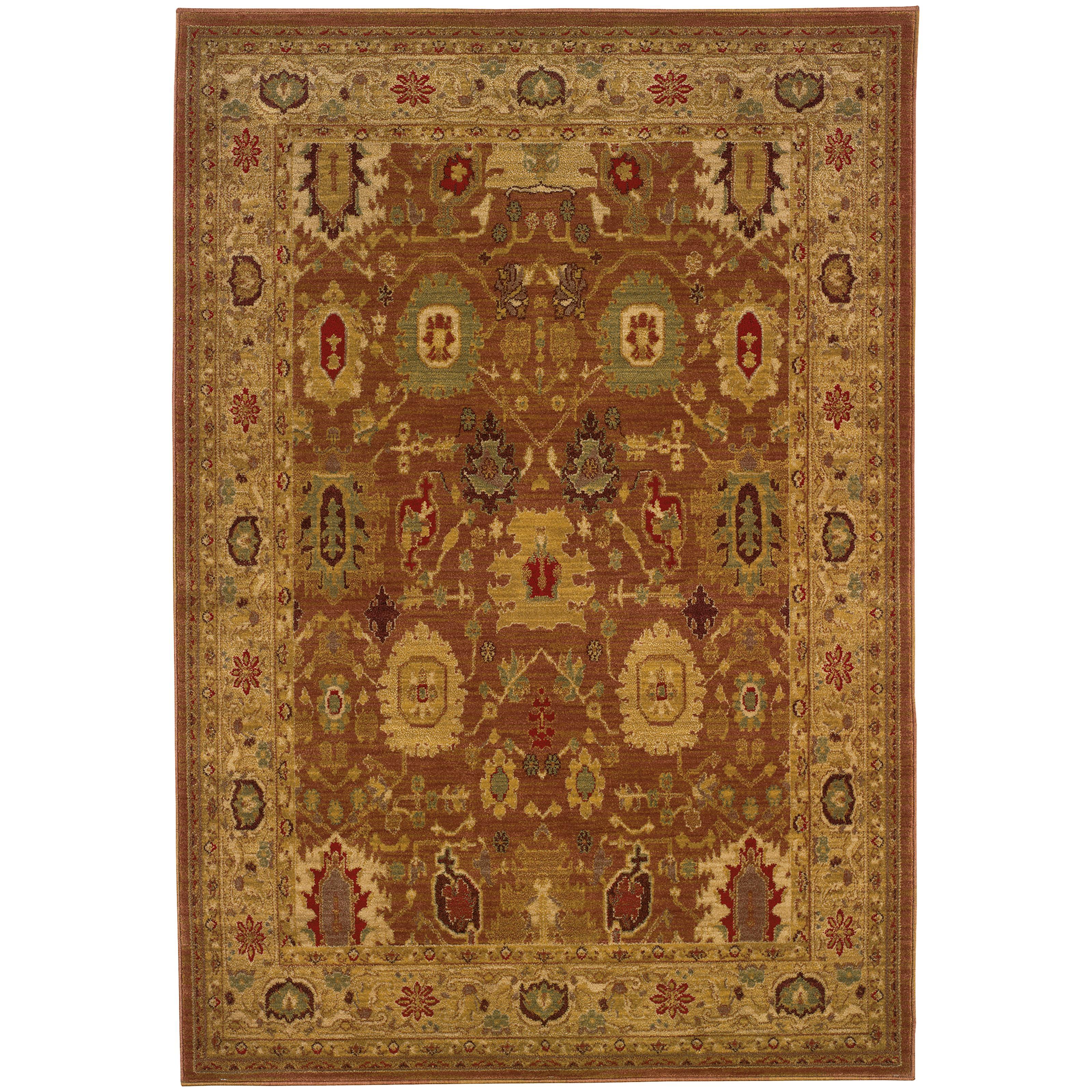 """Oriental Weavers Allure 3'10"""" X  5' 5"""" Rug - Item Number: AL06F14"""
