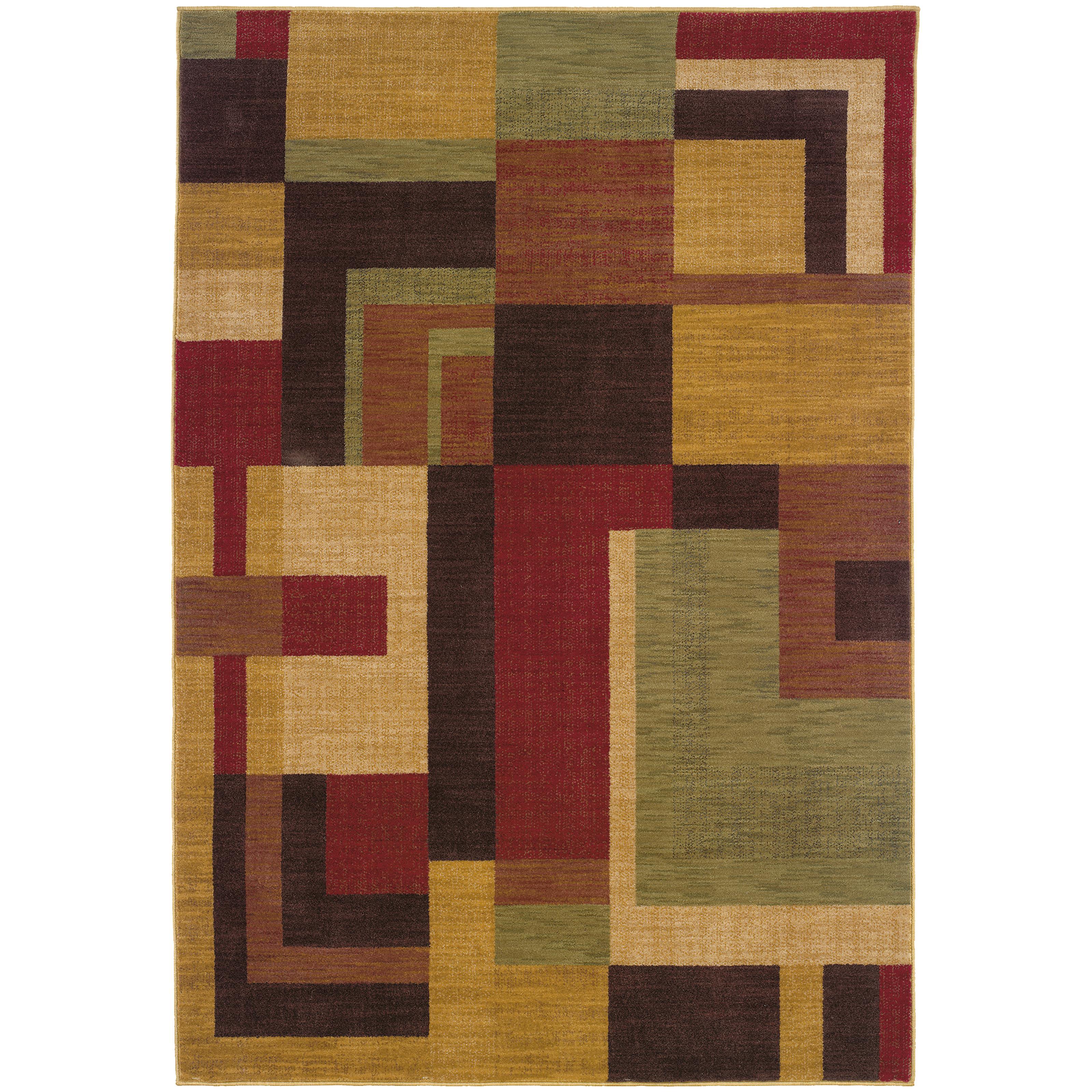 """Oriental Weavers Allure 3'10"""" X  5' 5"""" Rug - Item Number: AL09A14"""