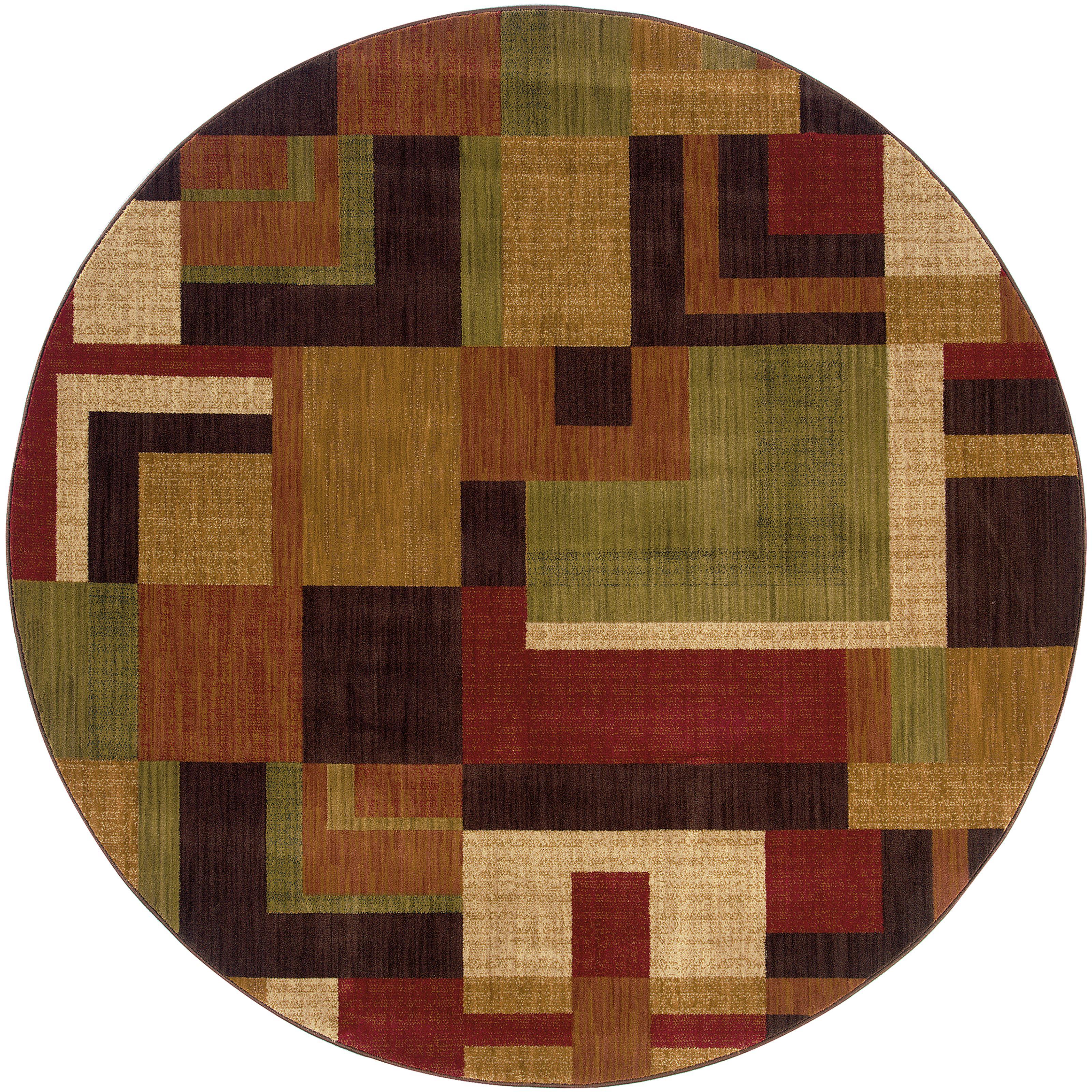 """Oriental Weavers Allure 7' 8"""" Rug - Item Number: AL09A1R"""
