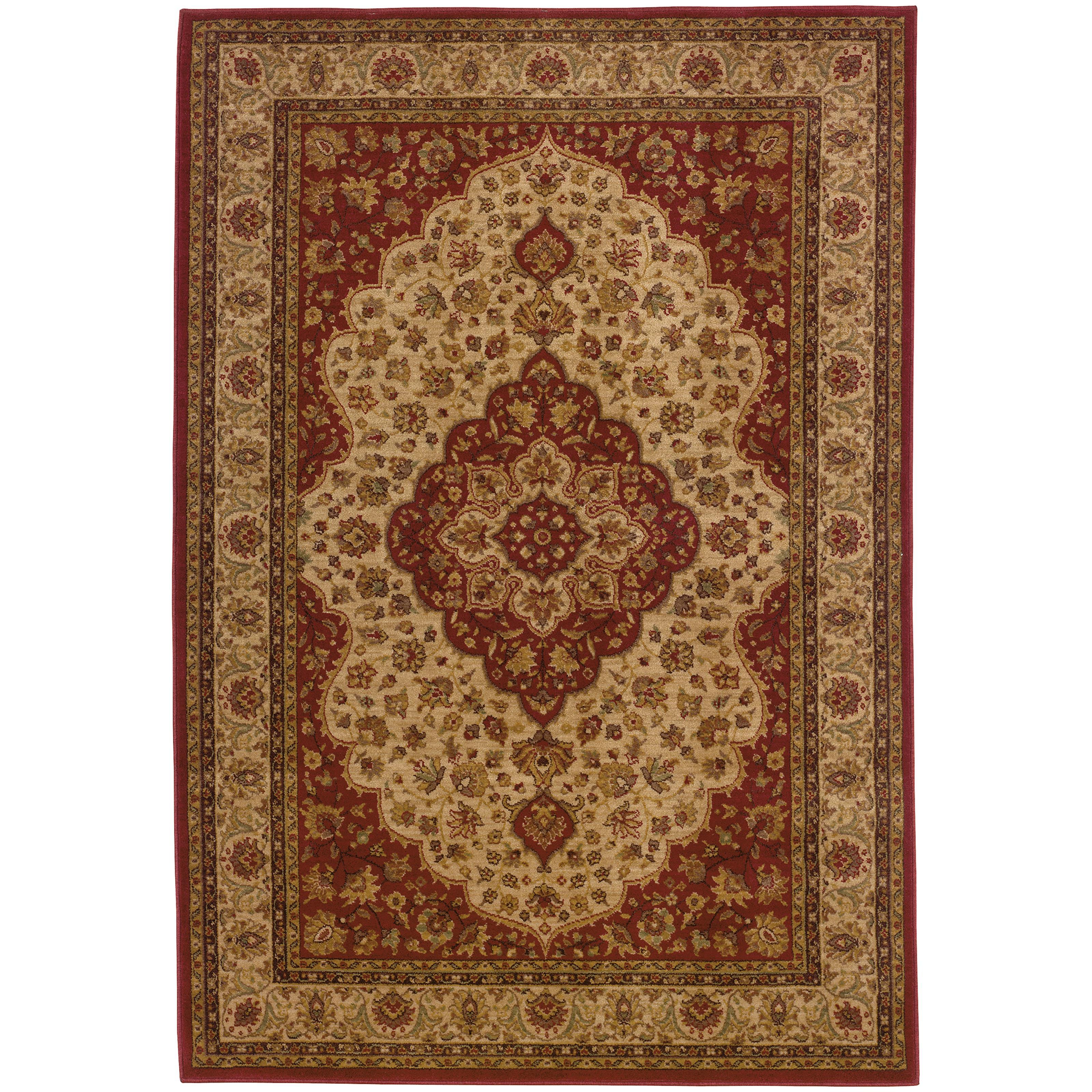 """Oriental Weavers Allure 3'10"""" X  5' 5"""" Rug - Item Number: AL11D14"""