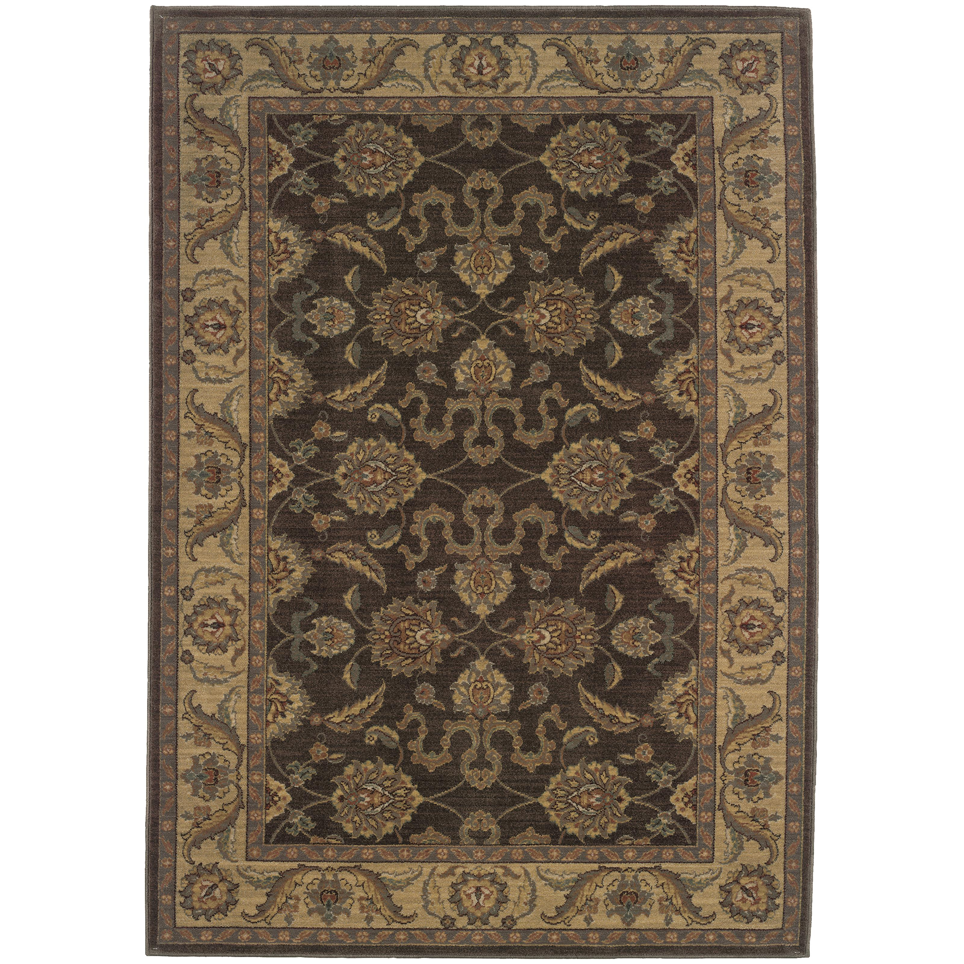 "Oriental Weavers Allure 3'10"" X  5' 5"" Rug - Item Number: AL12B14"