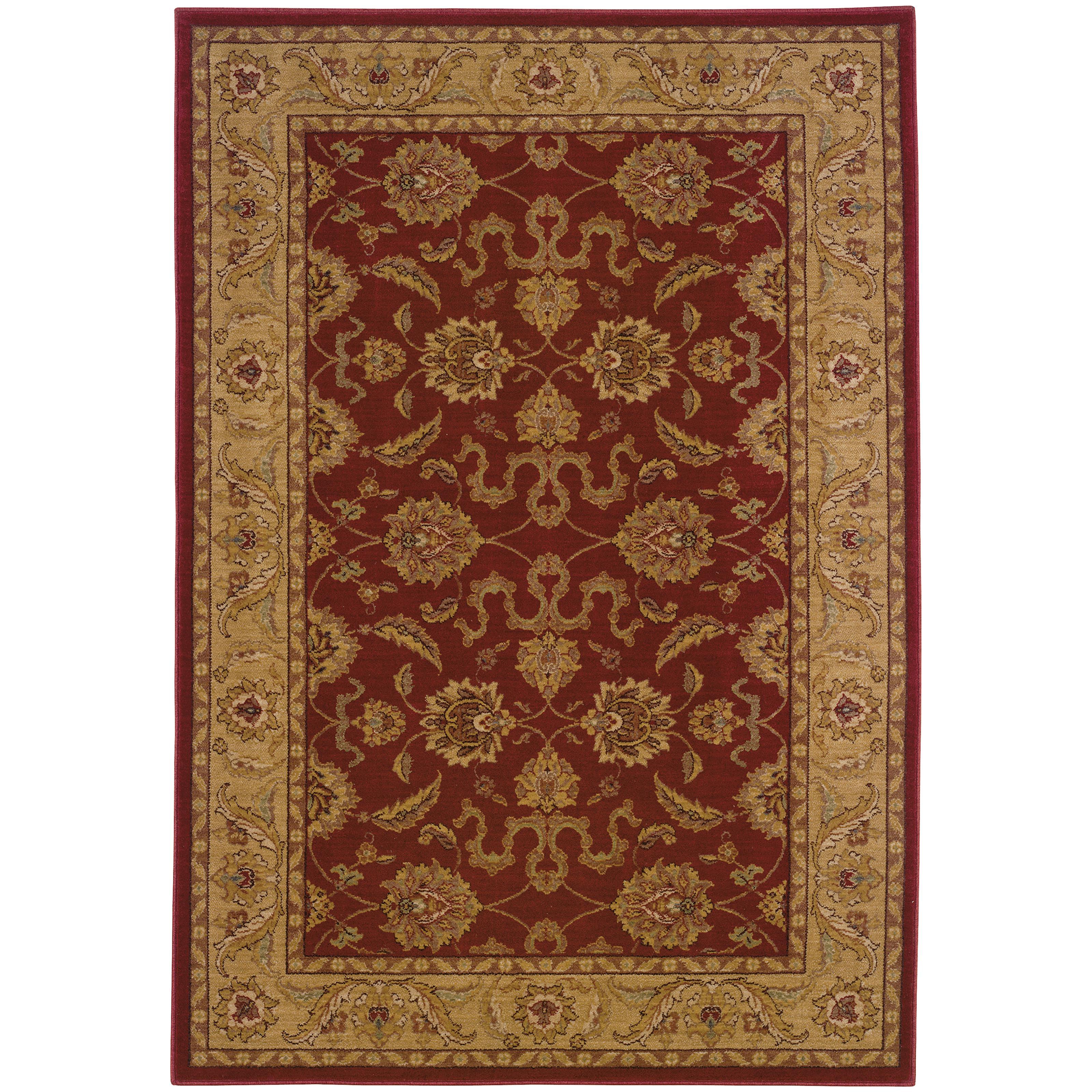 """Oriental Weavers Allure 3'10"""" X  5' 5"""" Rug - Item Number: AL12D14"""