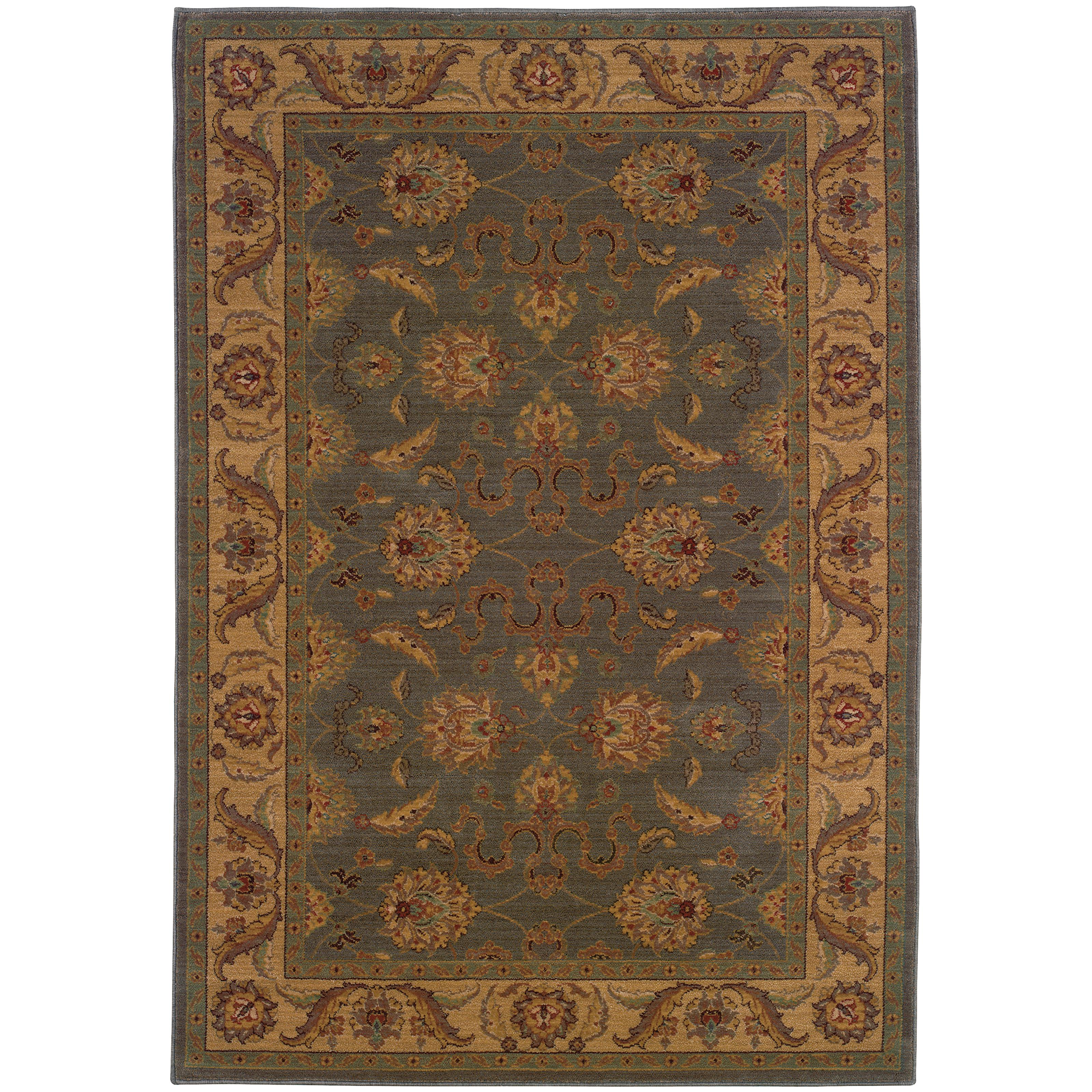 "Oriental Weavers Allure 5' 3"" X  7' 6"" Rug - Item Number: AL12E15"