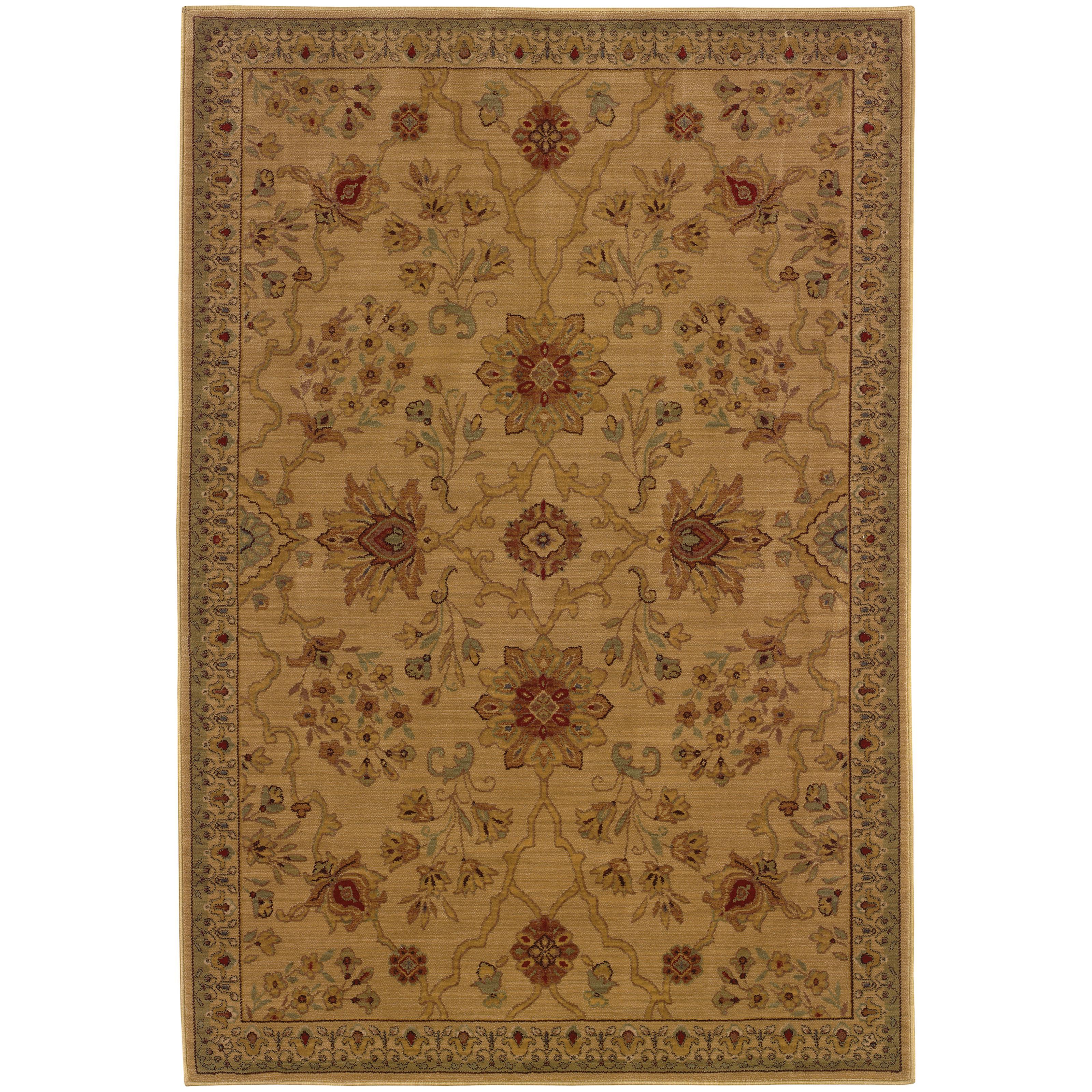 """Oriental Weavers Allure 3'10"""" X  5' 5"""" Rug - Item Number: AL13C14"""