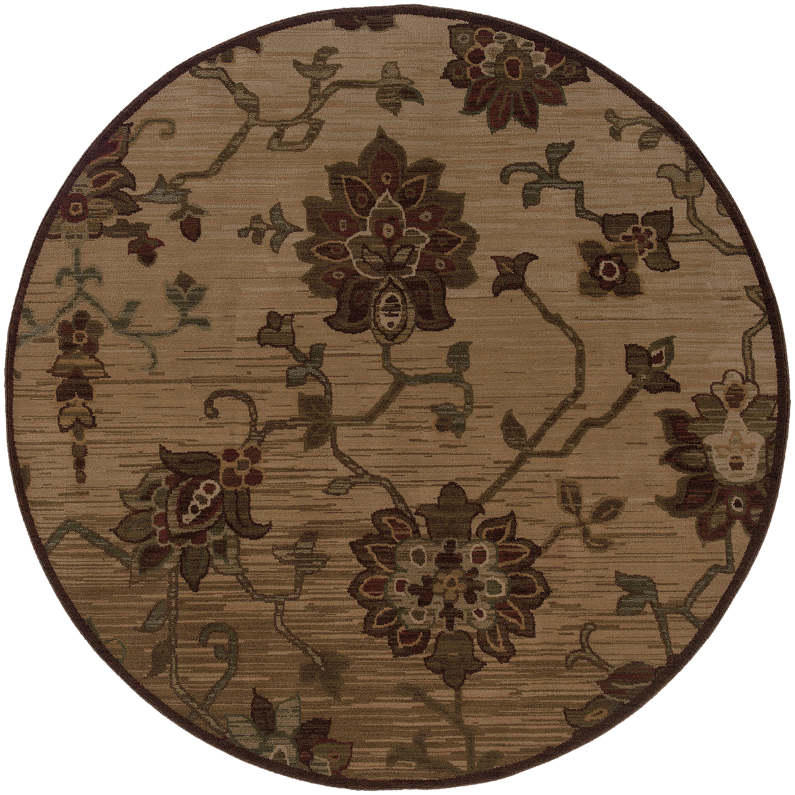 "Oriental Weavers Allure 7' 8"" Rug - Item Number: ALL054A1235RDST"