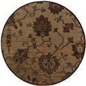 "Oriental Weavers Allure 7' 8"" Rug - Item Number: ALL054A1235RDST"