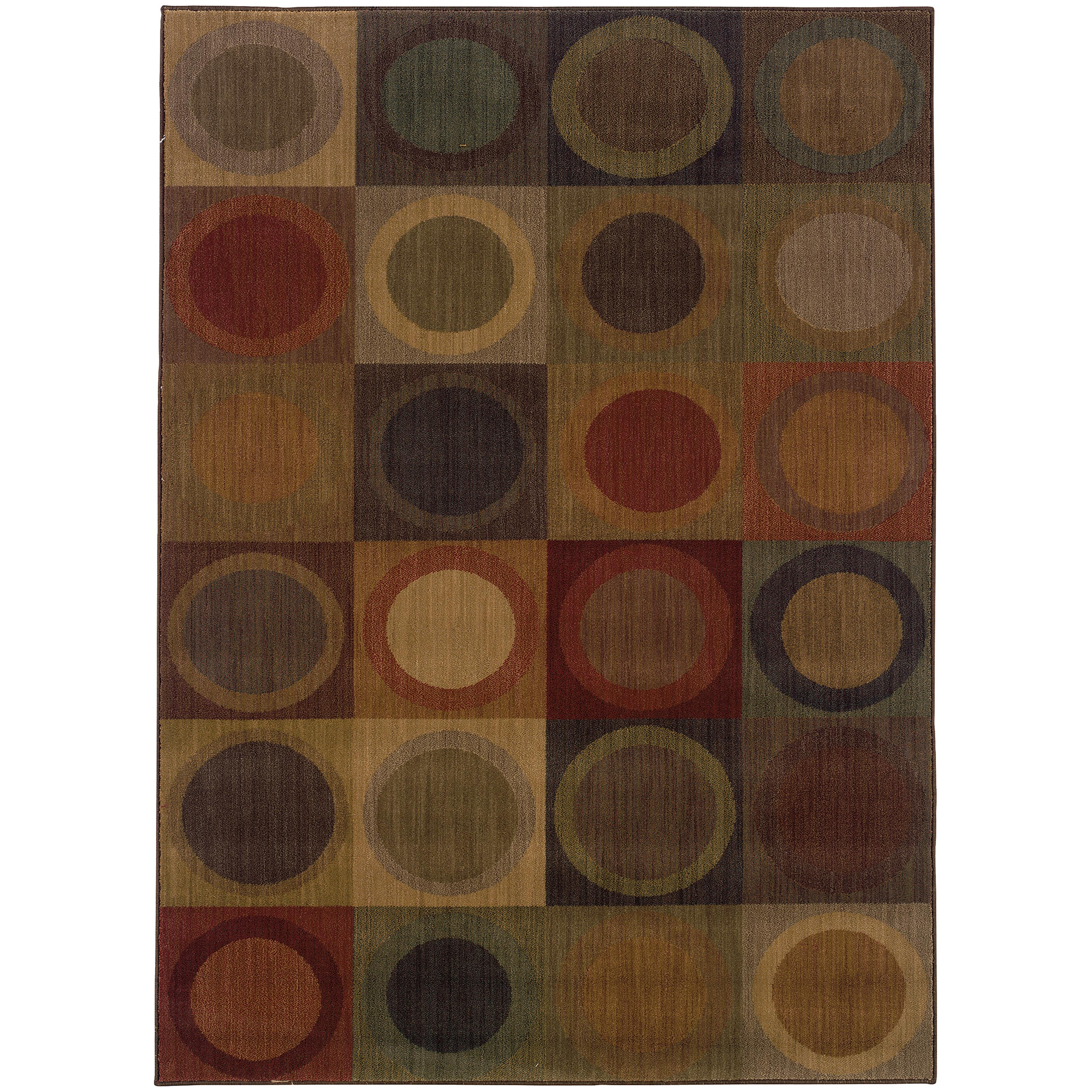 "Oriental Weavers Allure 5' 3"" X  7' 6"" Rug - Item Number: ALL53A5S"