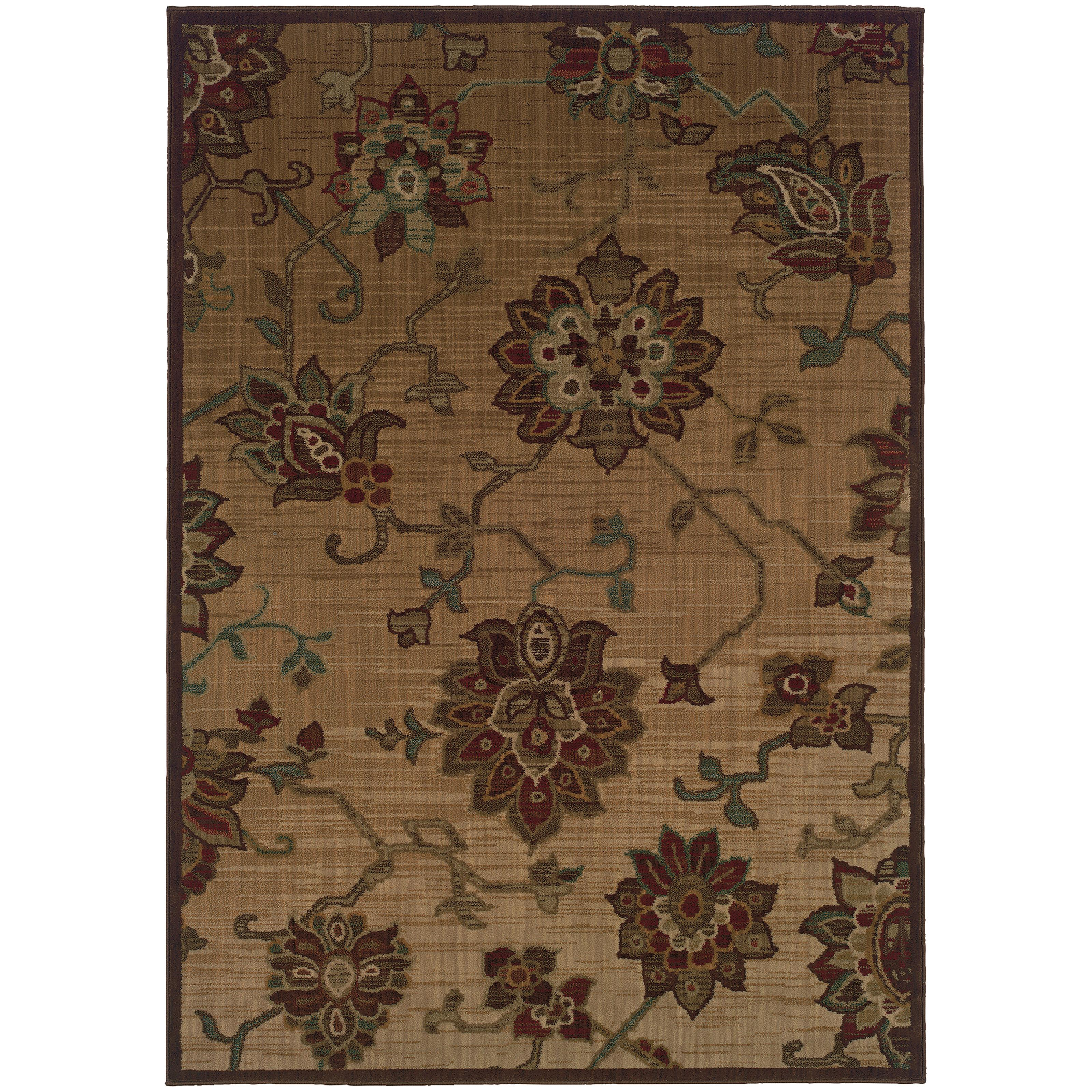 "Oriental Weavers Allure 3'10"" X  5' 5"" Rug - Item Number: ALL54A4"