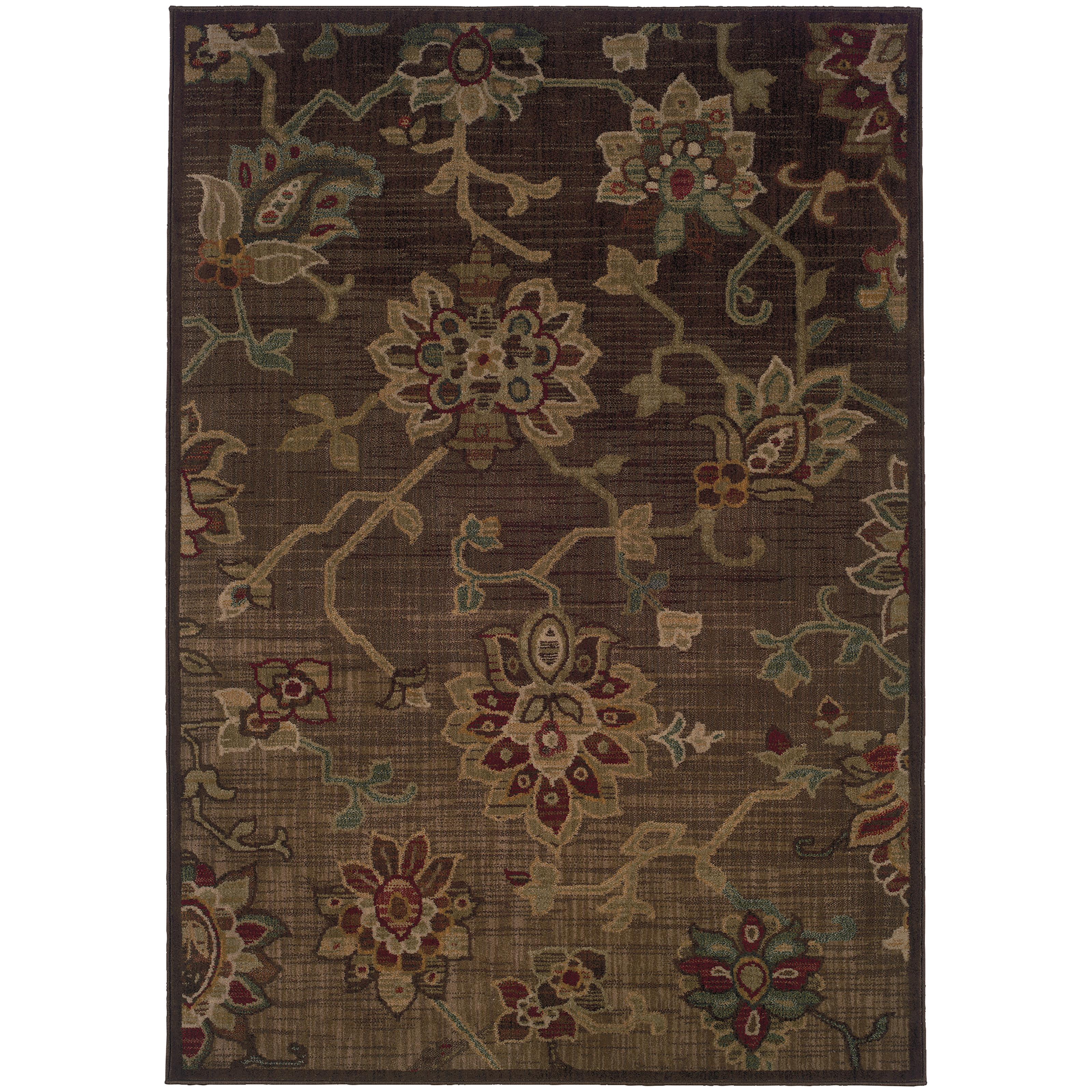 "Oriental Weavers Allure 5' 3"" X  7' 6"" Rug - Item Number: ALL54C5"