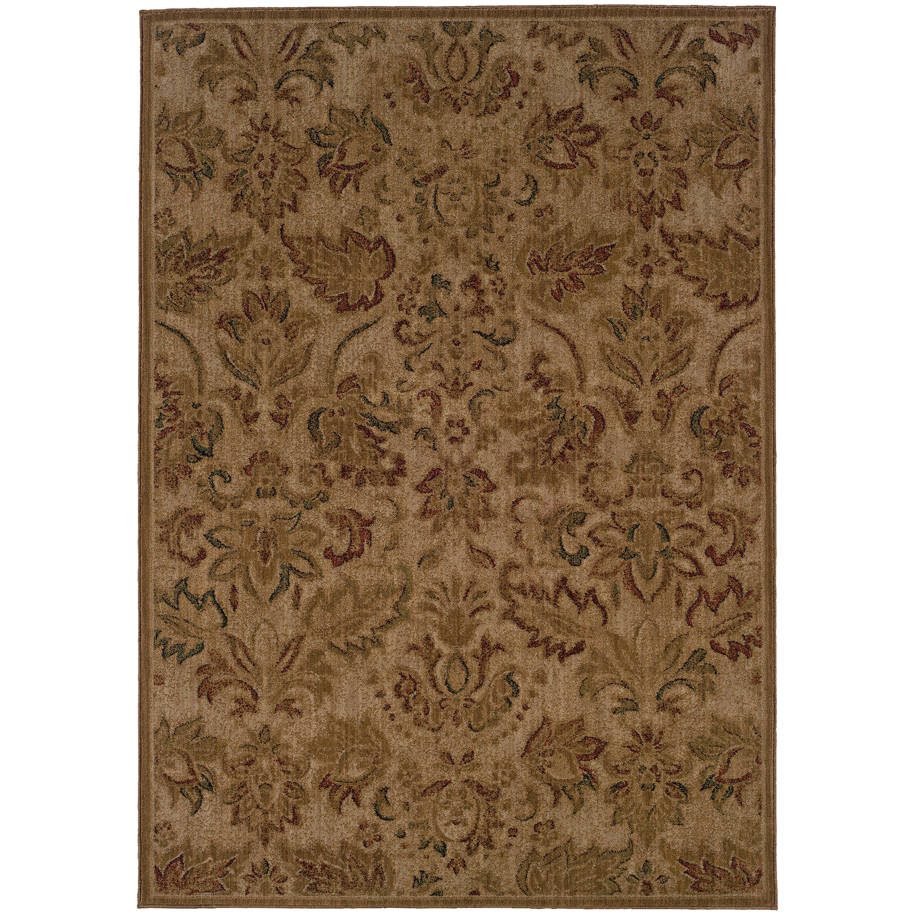 """Oriental Weavers Allure 3'10"""" X  5' 5"""" Rug - Item Number: ALL57B4"""