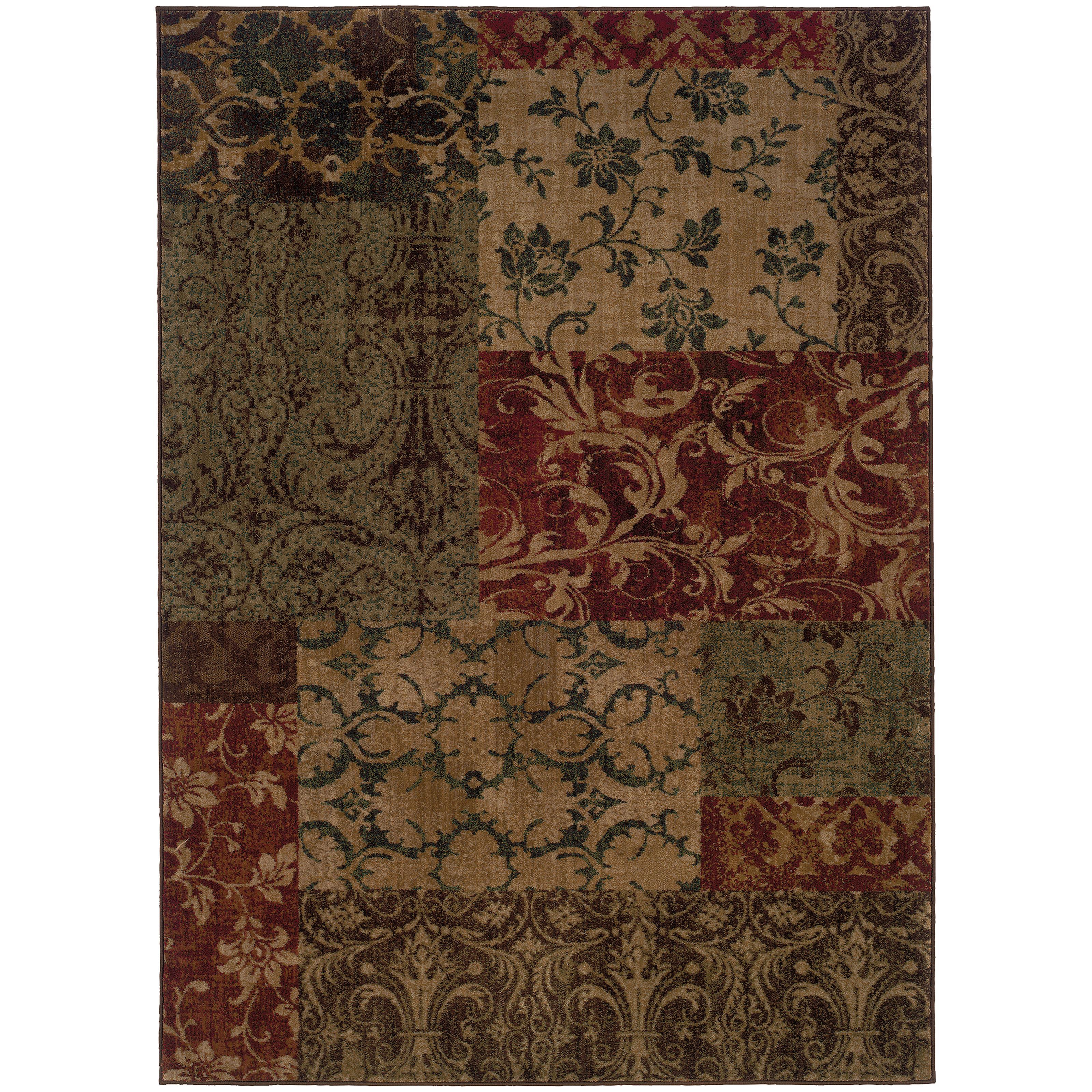 """Oriental Weavers Allure 3'10"""" X  5' 5"""" Rug - Item Number: ALL58B4"""