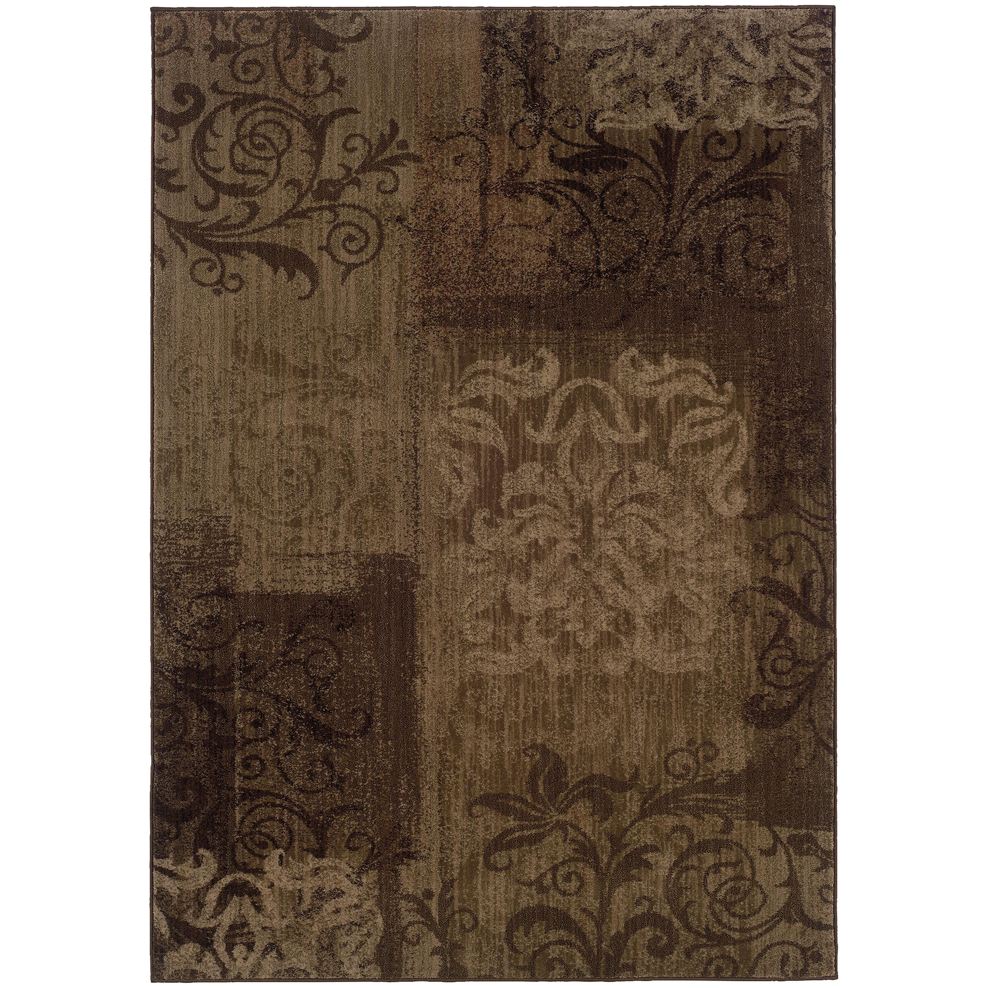 """Oriental Weavers Allure 5' 3"""" X  7' 6"""" Rug - Item Number: ALL60B5"""