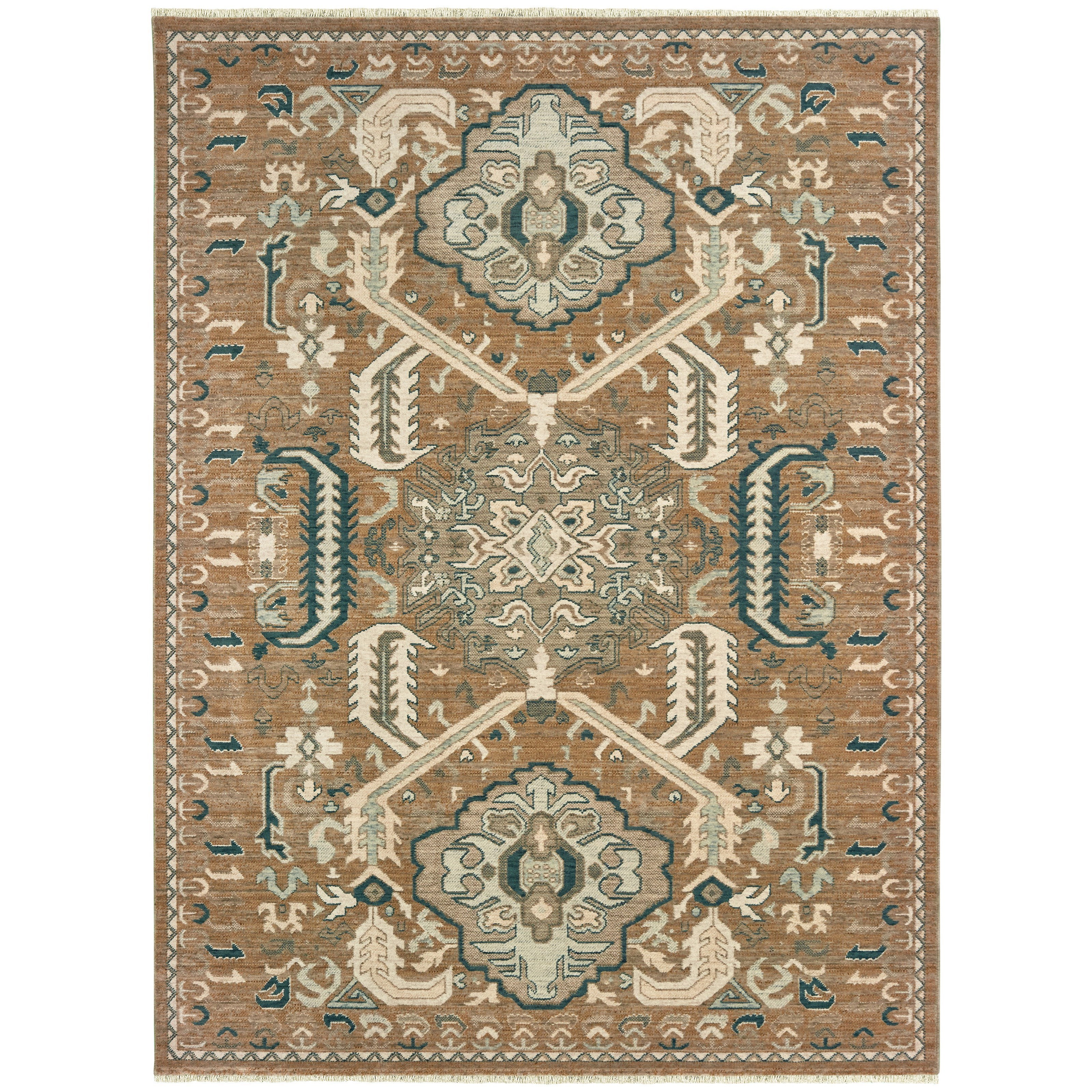 """Anatolia 7'10"""" X 10'10"""" Rectangle Rug by Oriental Weavers at Darvin Furniture"""