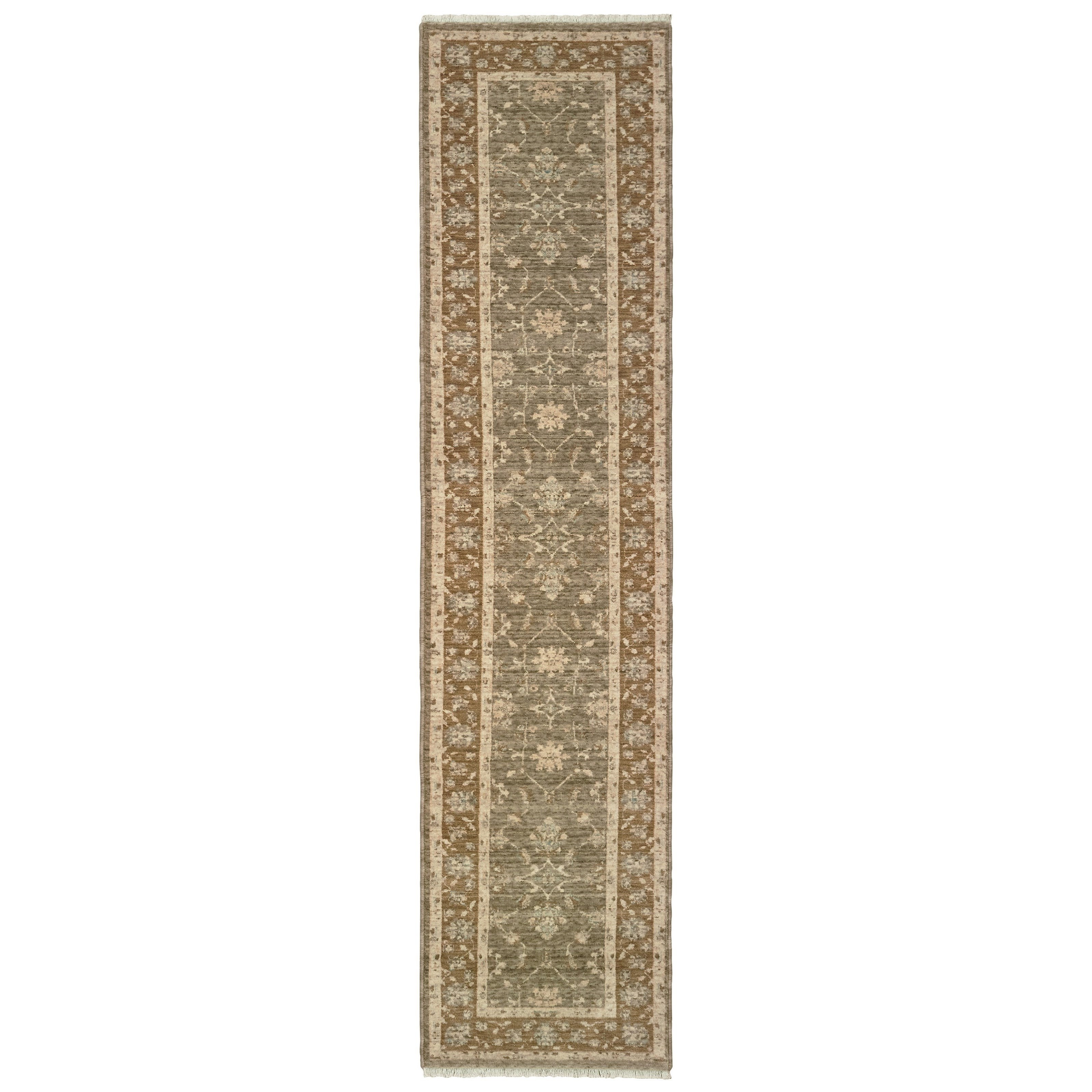 """Anatolia 2' 3"""" X 10' Runner Rug by Oriental Weavers at Steger's Furniture"""