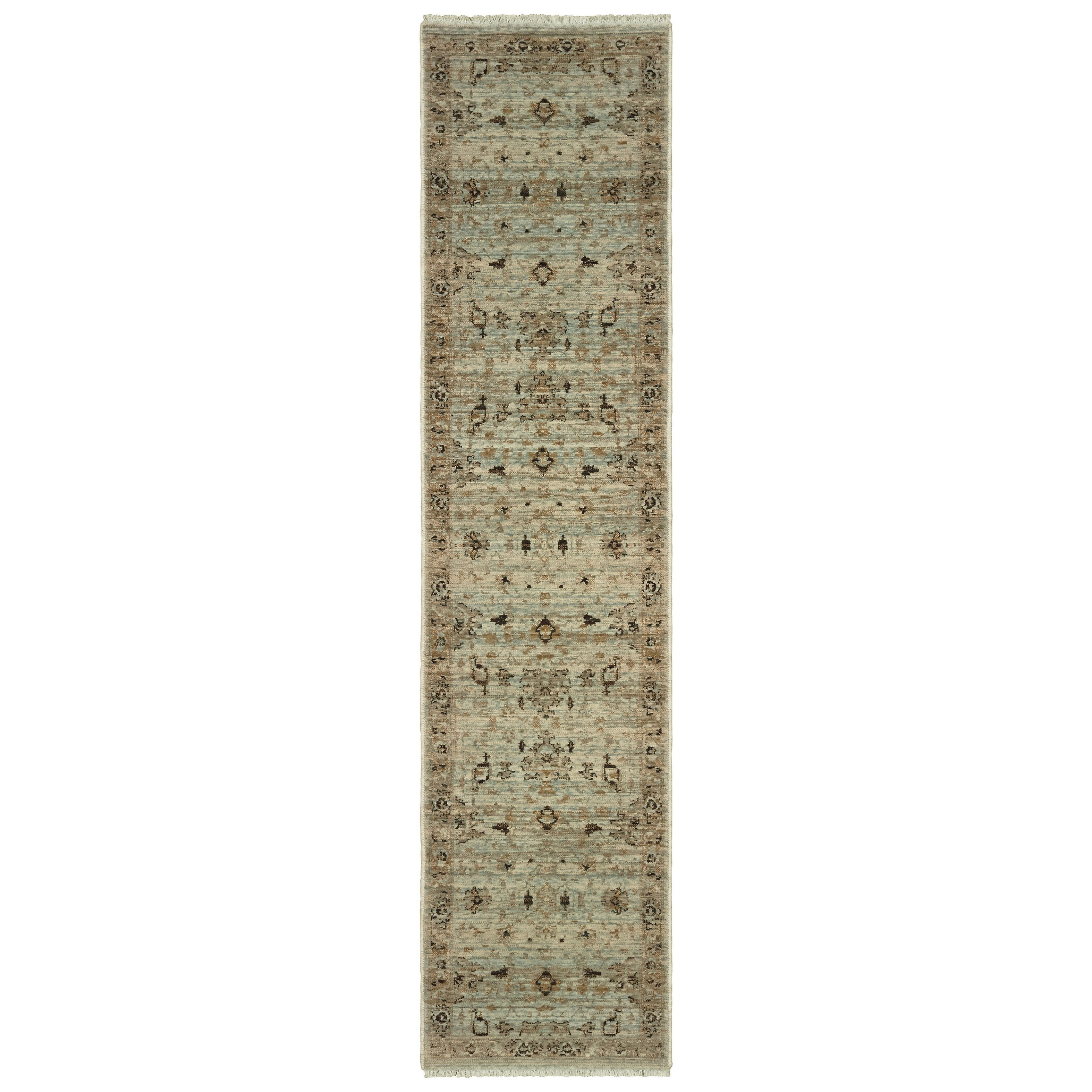"Anatolia 2' 3"" X 10' Runner Rug by Oriental Weavers at Darvin Furniture"
