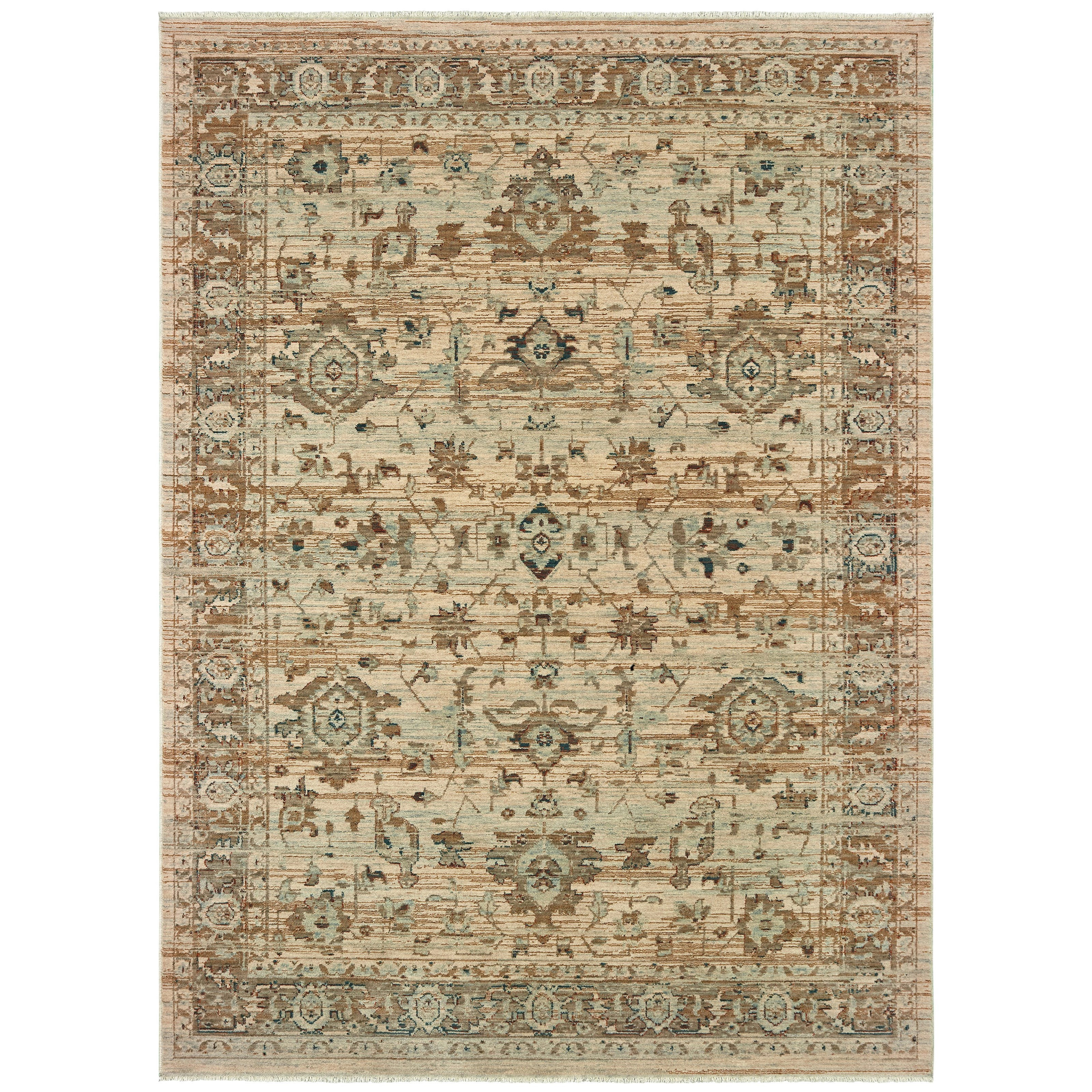 """Anatolia 5' 3"""" X  7' 6"""" Rectangle Rug by Oriental Weavers at Darvin Furniture"""