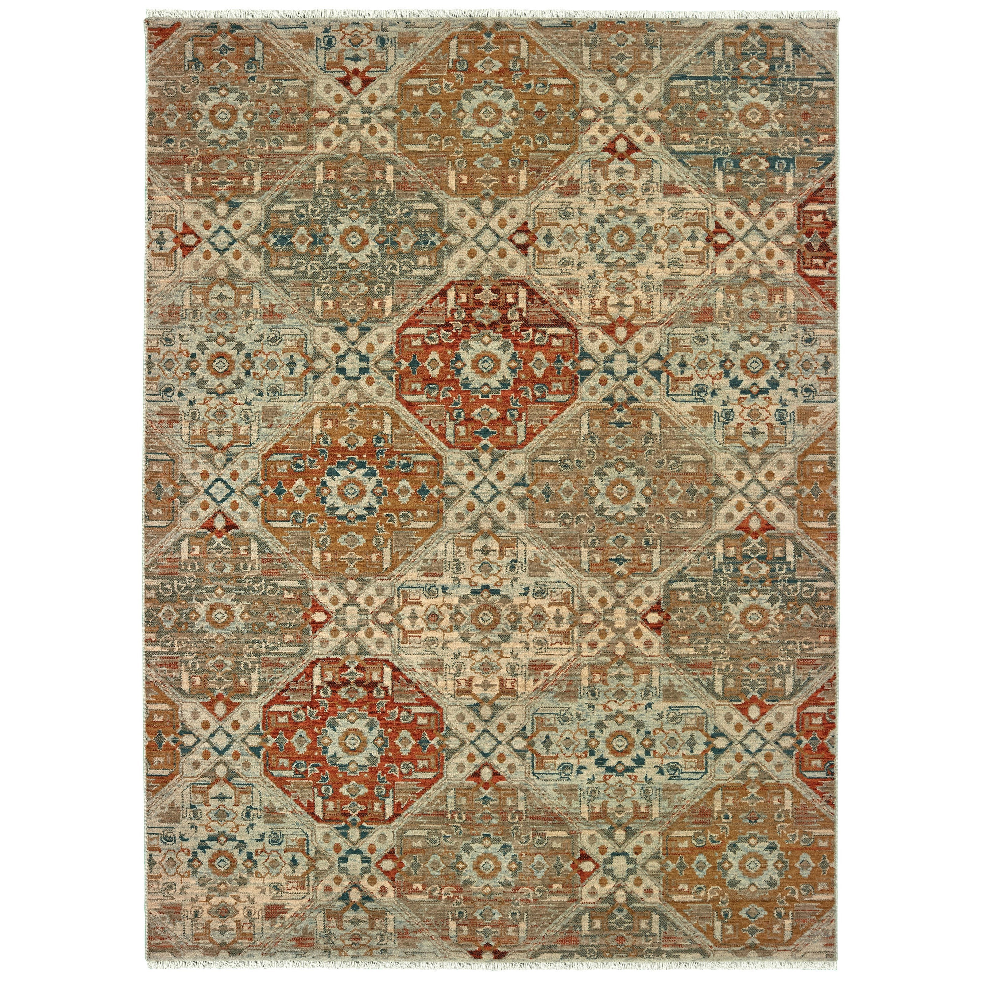 "Anatolia 7'10"" X 10'10"" Rectangle Rug by Oriental Weavers at Darvin Furniture"