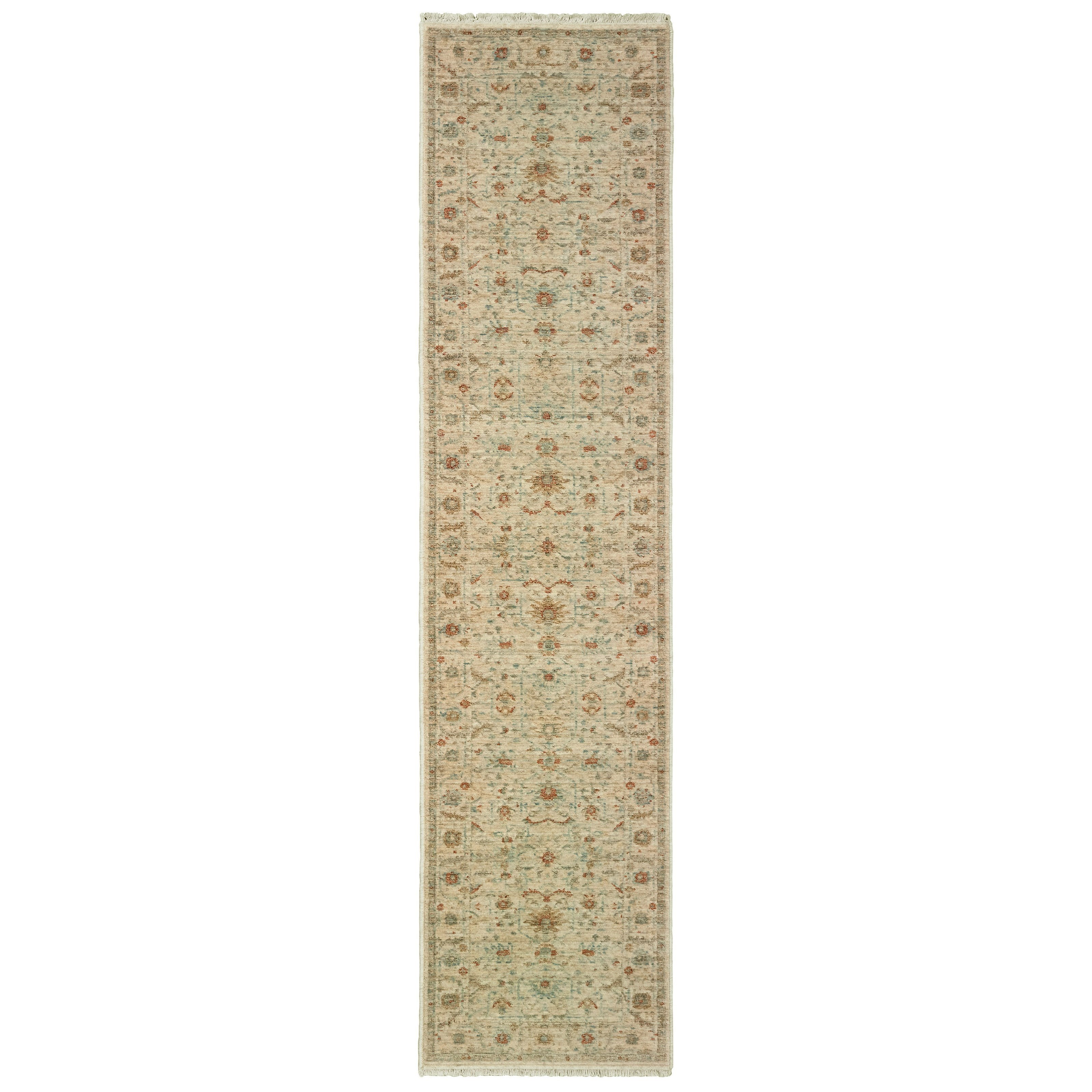 "Anatolia 2' 3"" X 10' Runner Rug by Oriental Weavers at Steger's Furniture"