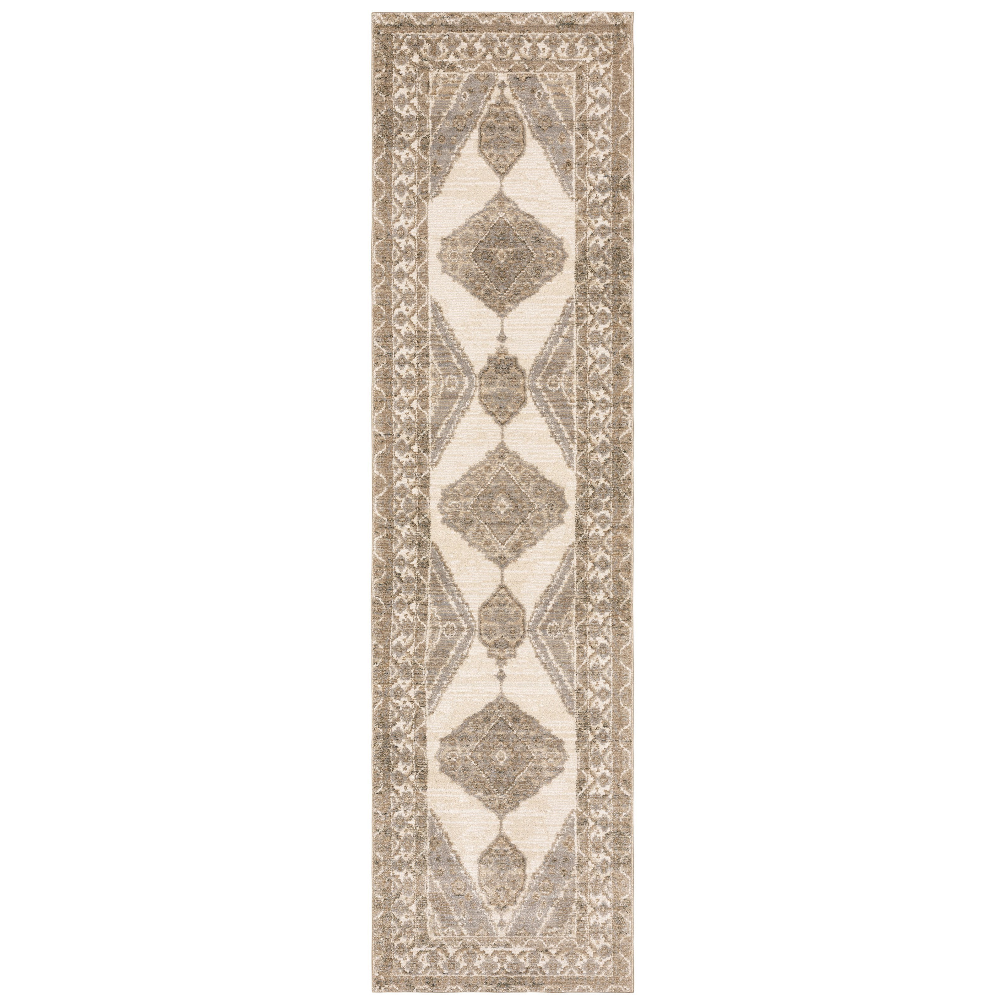 "Andorra 2' 6"" X 12' 0"" Runner Rug by Oriental Weavers at Steger's Furniture"
