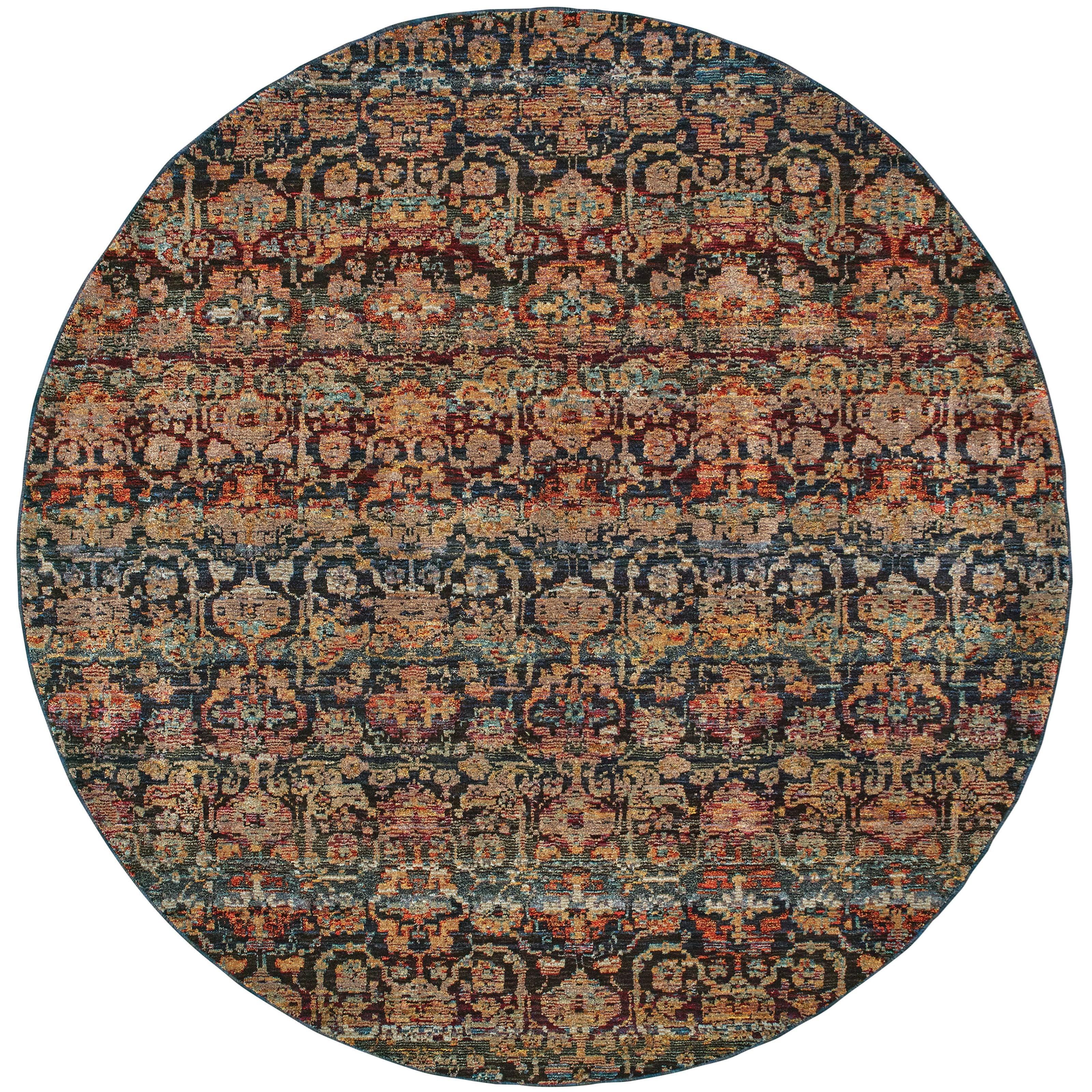 "Andorra 7'10"" Round Rug by Oriental Weavers at Steger's Furniture"