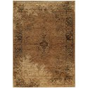"""Oriental Weavers Andorra 3' 3"""" X  5' 2"""" Casual Gold/ Brown Rectangle  - Item Number: AND6845D33X52"""