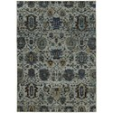 "Oriental Weavers Andorra 5' 3"" X  7' 3"" Casual Blue/ Navy Rectangle R - Item Number: AND7120A53X73"