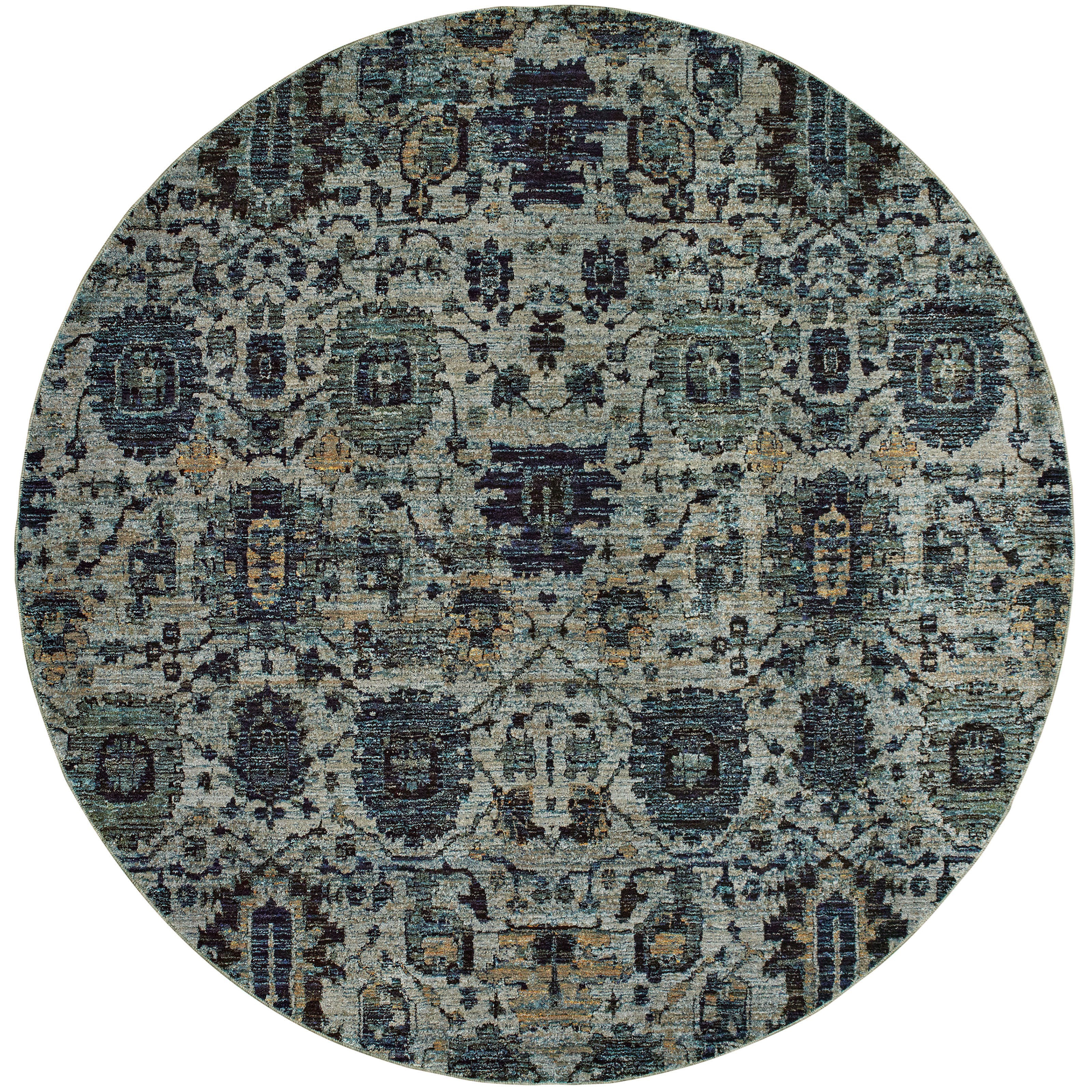 "Andorra 7'10"" Round Rug by Oriental Weavers at Steger's Furniture"