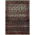 "Oriental Weavers Andorra 3' 3"" X  5' 2"" Casual Multi/ Red Rectangle R - Item Number: AND7122D33X52"